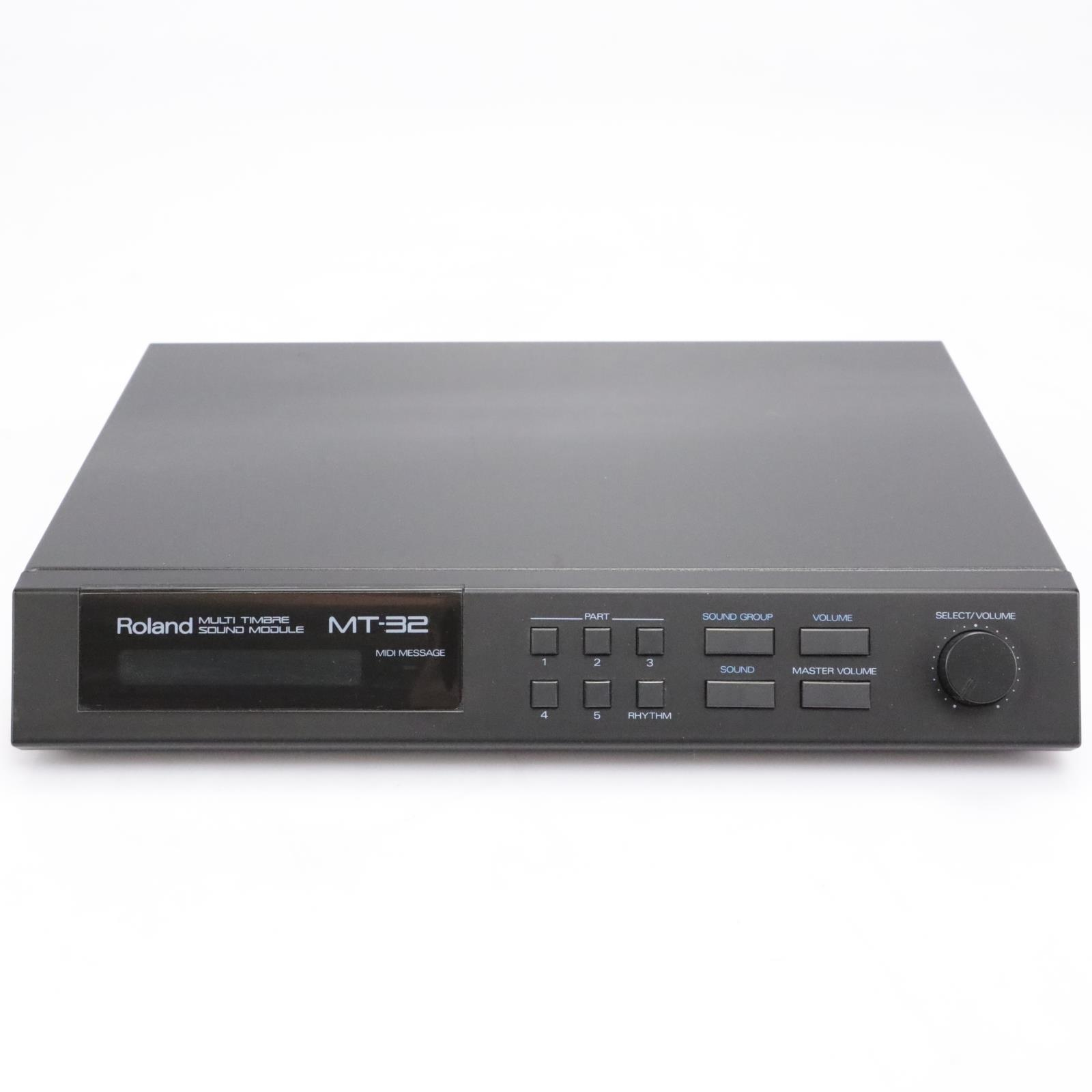 Roland MT-32 Multi Timbre Sound Module Synthesizer #43467
