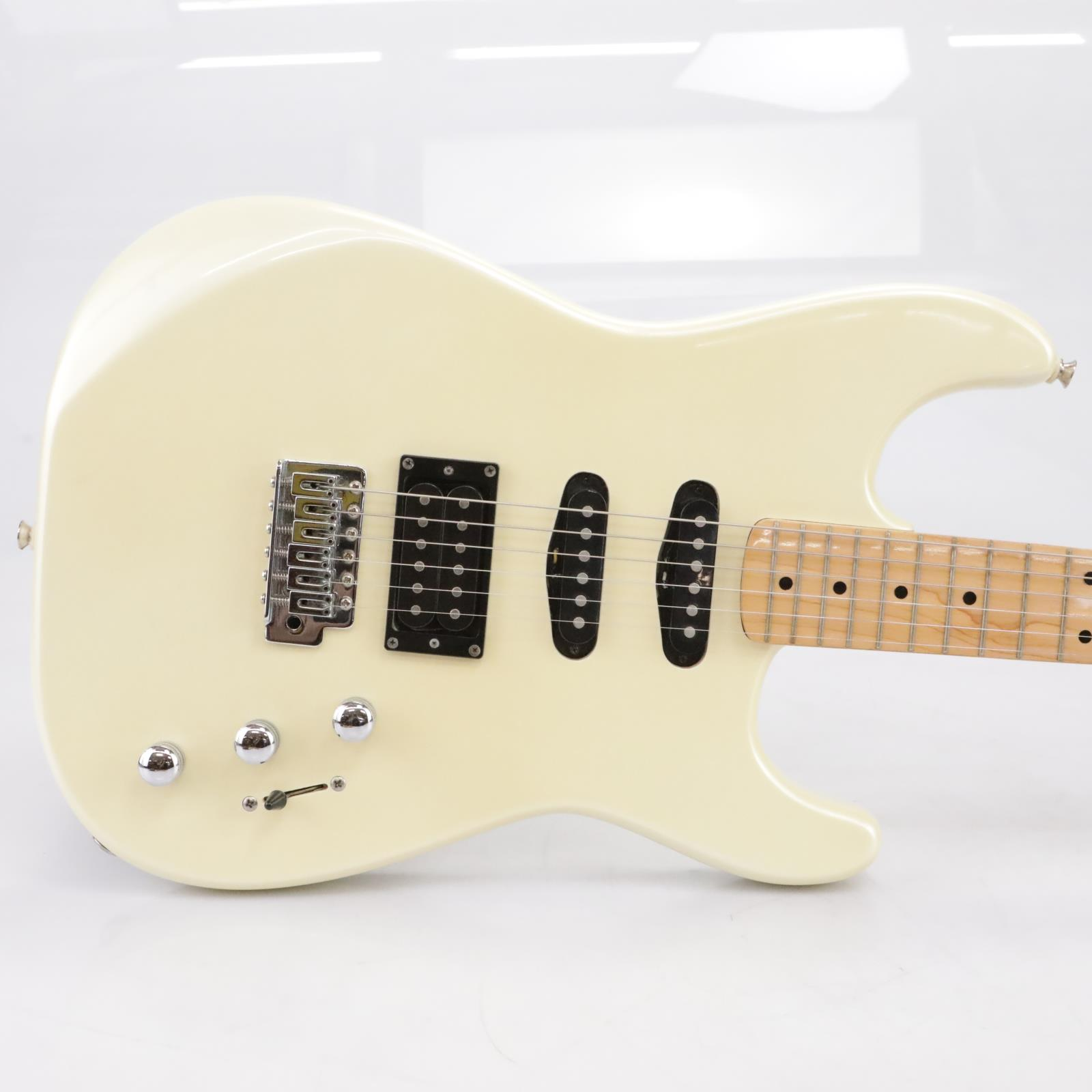Fender Squier II HSS Stratocaster Vintage Pearl White Electric Guitar #43469