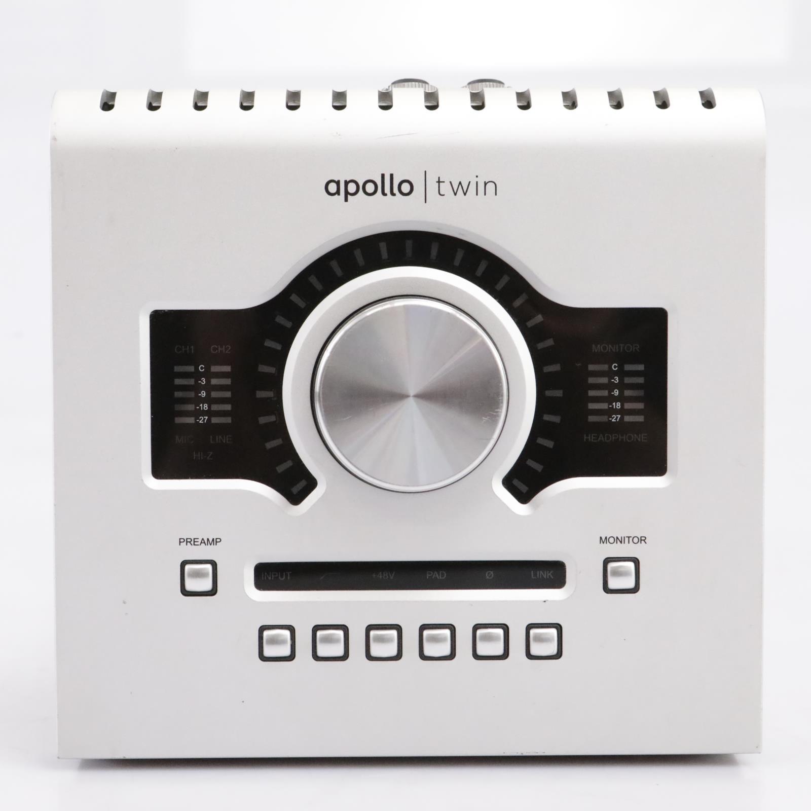 Universal Audio Apollo Twin UAD2 Solo Core Audio Interface #43657