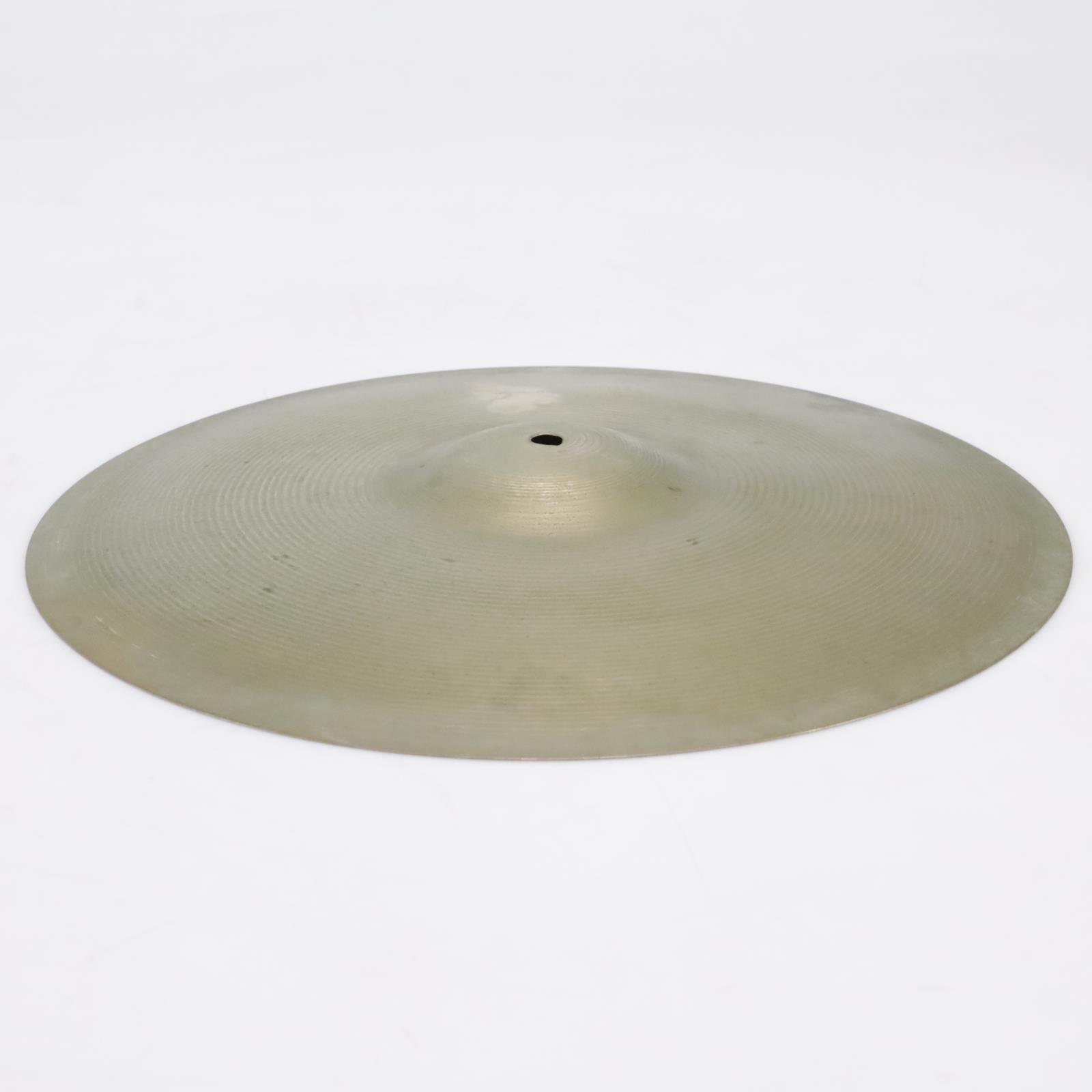 "Vintage Paiste Ludwig Standard 16"" Crash Cymbal Made in Switzerland #43370"