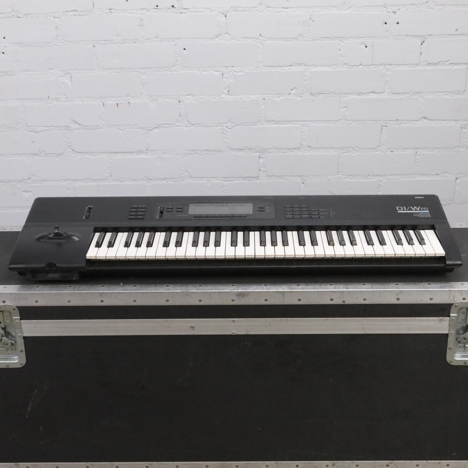 Korg 01/WFD 61-Key Workstation Synthesizer Synth Keyboard #43417