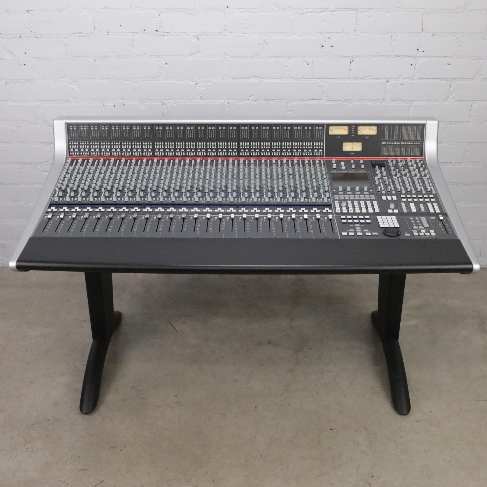 Solid State Logic SSL AWS 948 Analogue Workstation System Console #43764