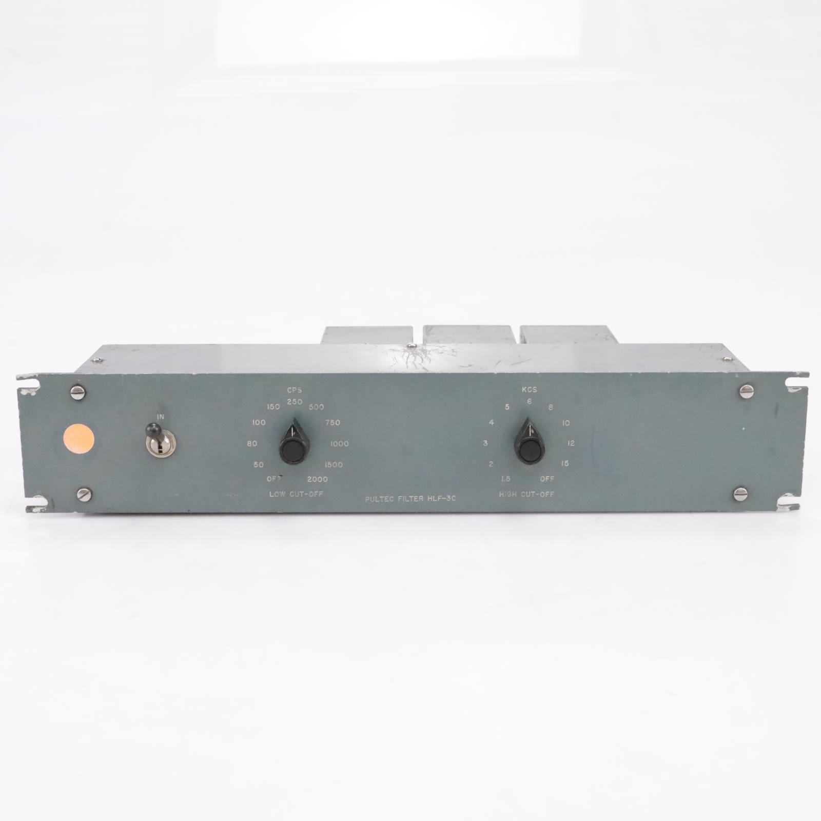 Pultec HLF-3C High / Low Cut Filter #43804