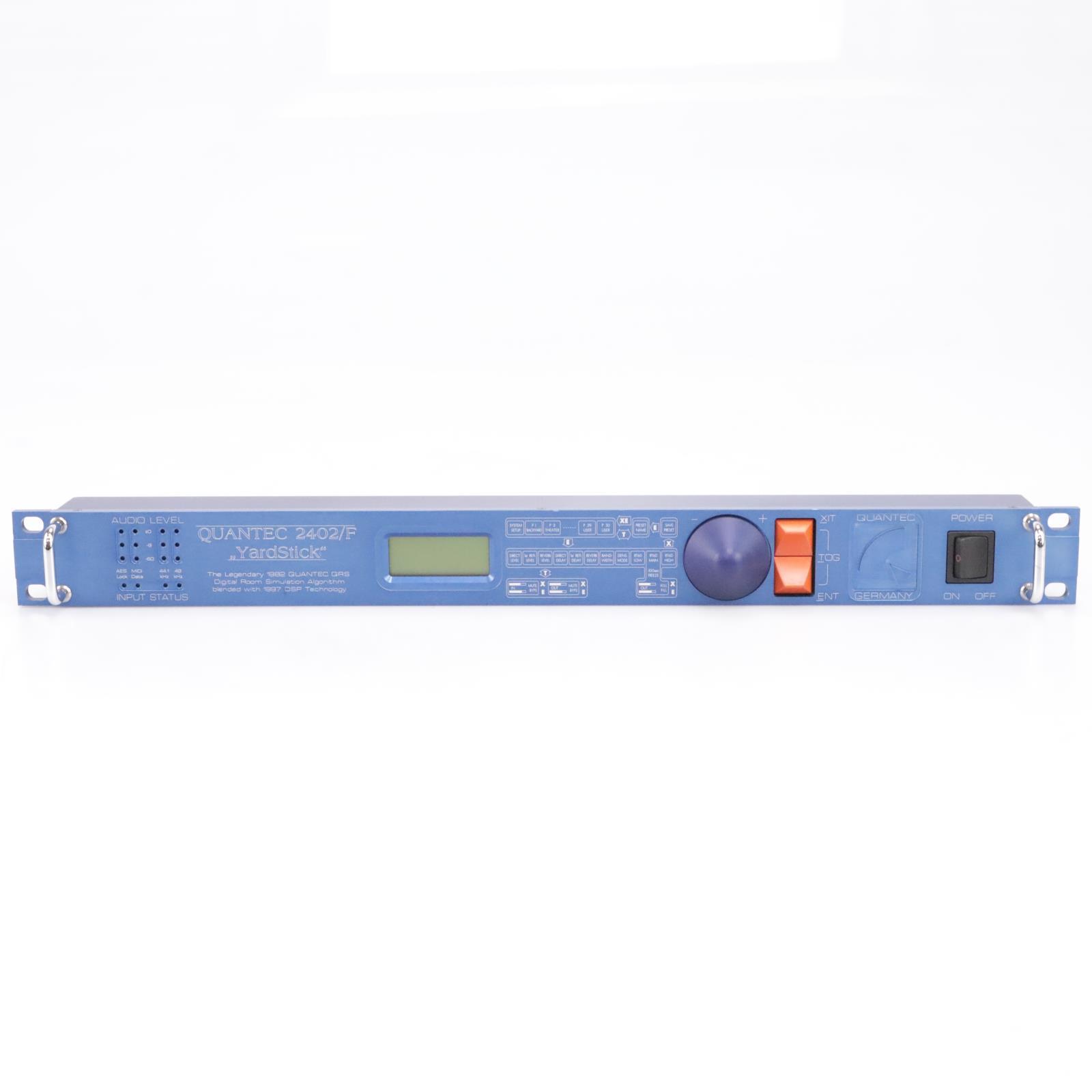 "Quantec 2402/F ""Yardstick"" Digital Room Simulator / Reverb #43676"