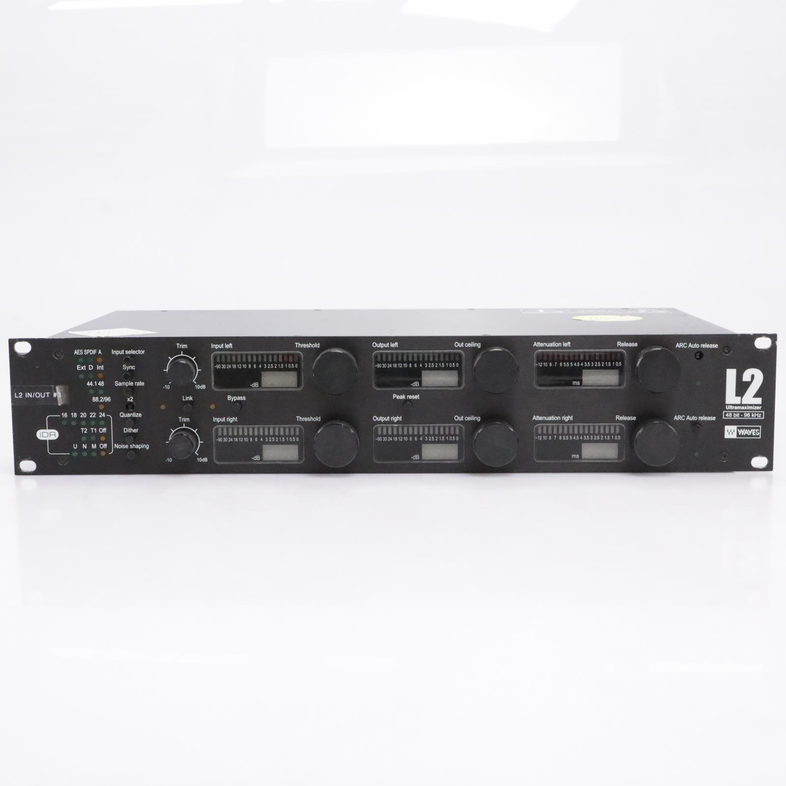 Waves L2 Ultramaximizer Rackmountable Mastering Limiter #43679