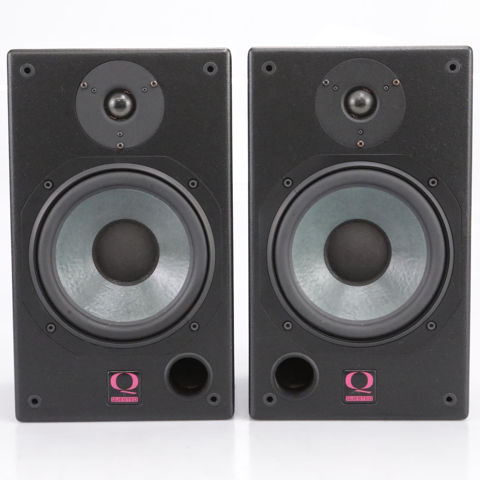 "Quested H108 8"" 2-Way Passive Studio Monitors Speakers #43744"