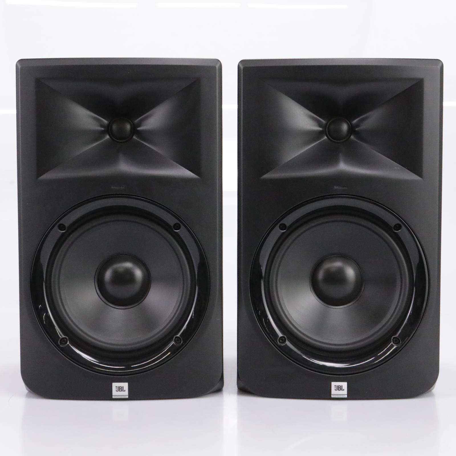 "JBL LSR-308 Two-Way 8"" Powered Studio Monitors (Pair) #43777"