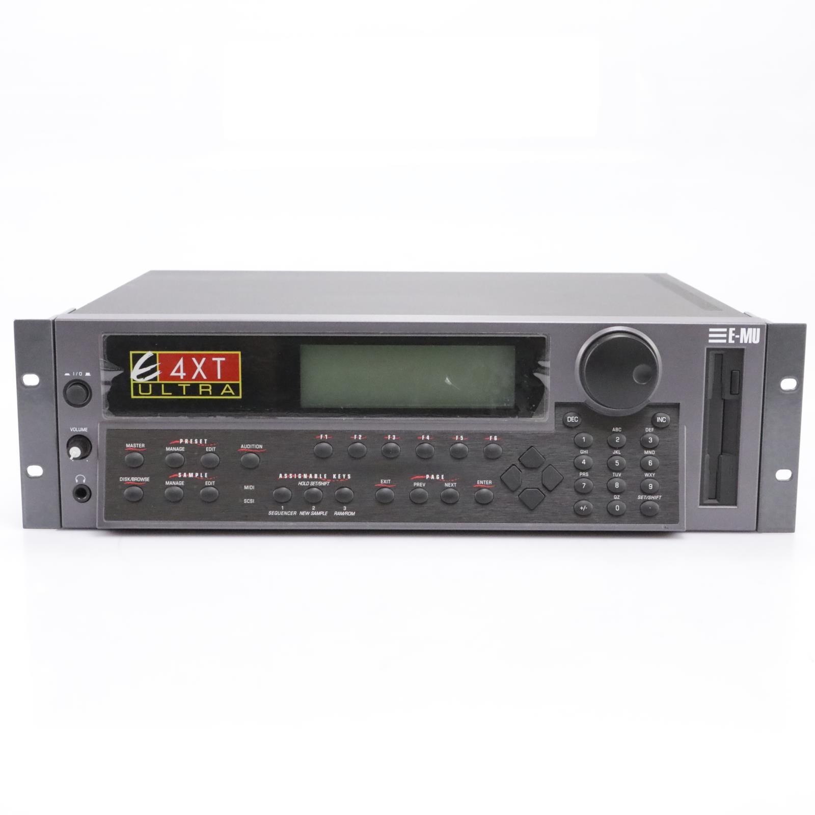 E-MU Systems E4XT Ultra Sampler Rack Module #43740