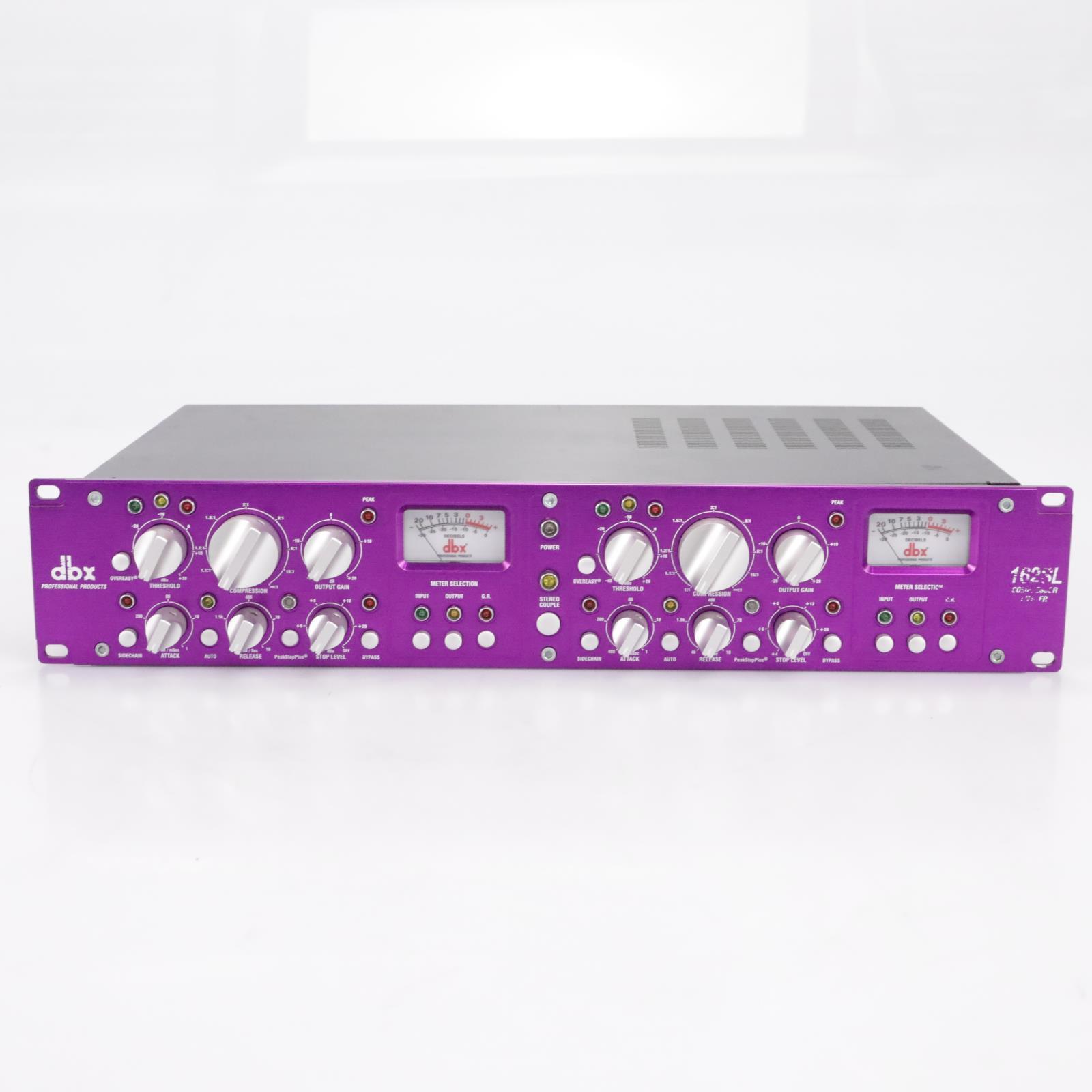 DBX 162SL 2-Channel Compressor / Limiter #43816