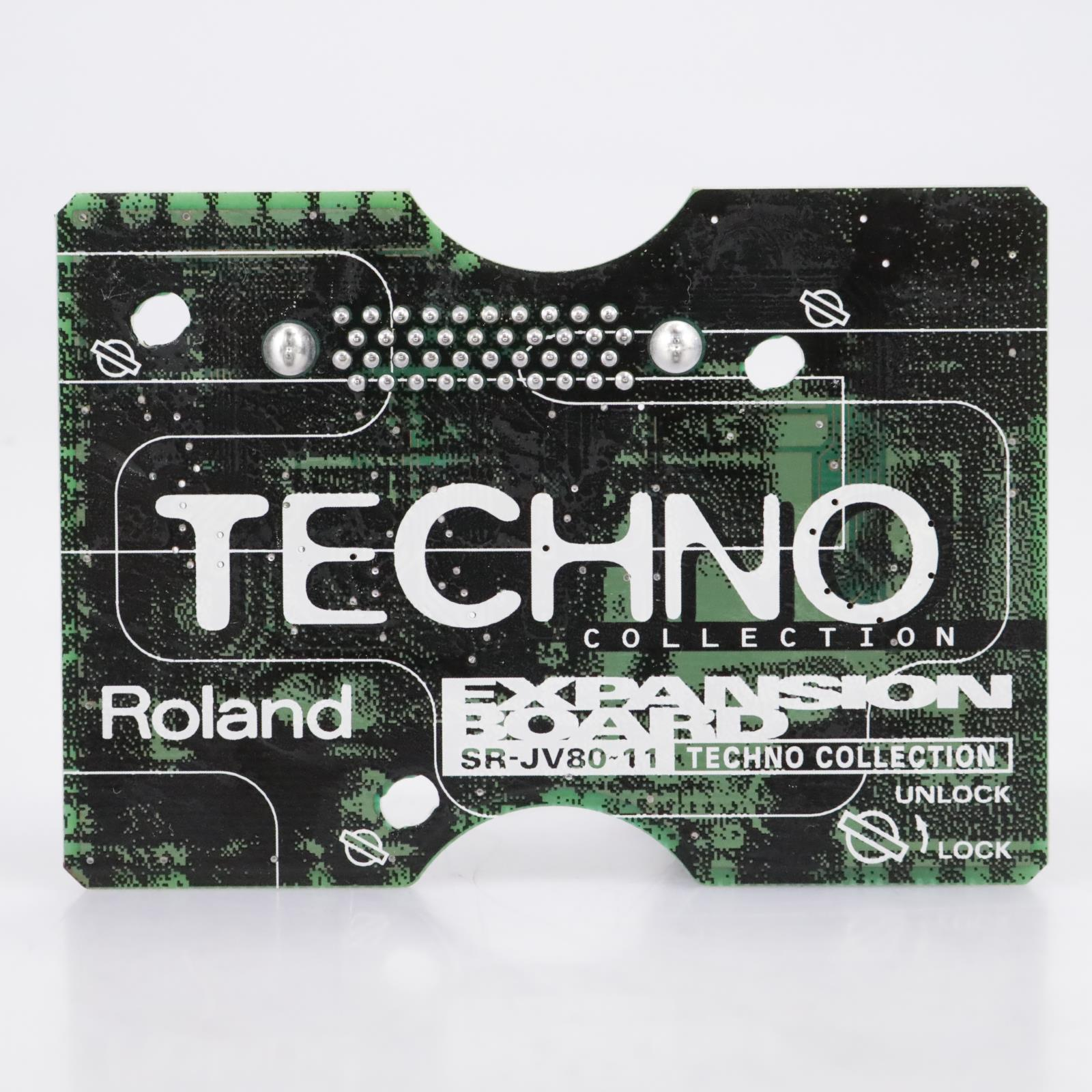 Roland SR-JV80-11 Techno Collection Synthesizer Expansion Board #43713