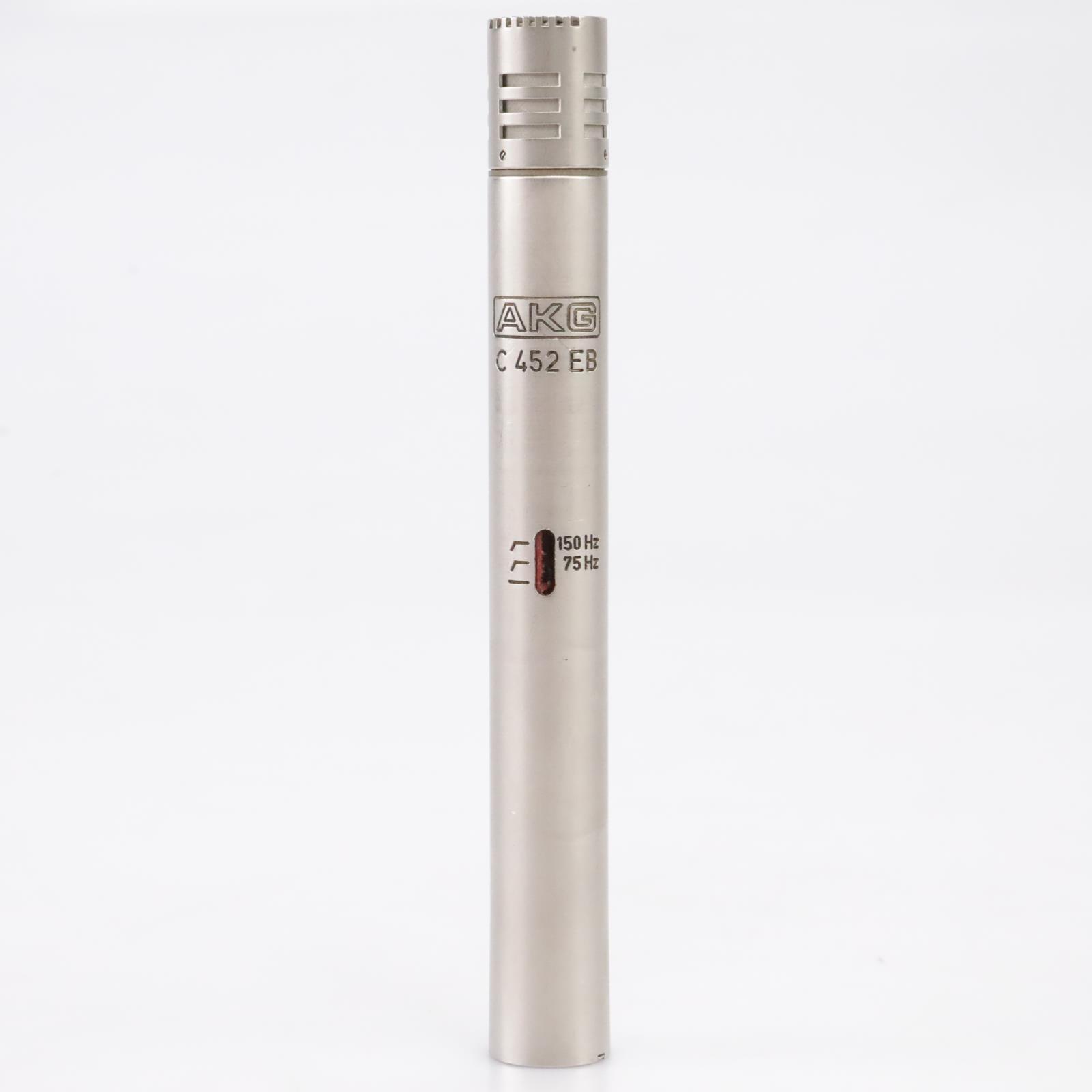AKG C452EB Condenser Microphone CK1 Capsule w/ Sennheiser Mic Clip #43709