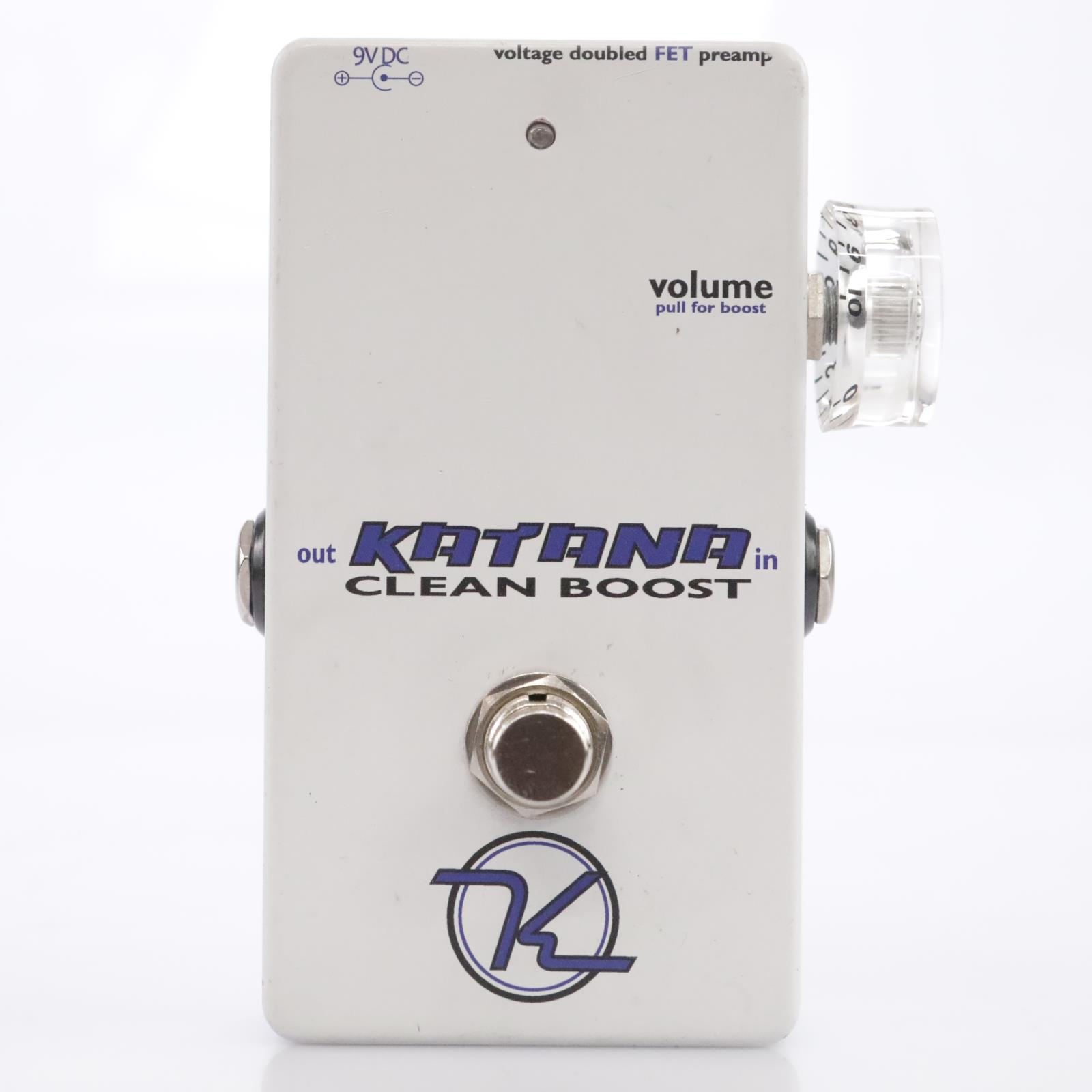 Keeley Engineering Katana Clean Boost V2 Guitar Effects Pedal #43556