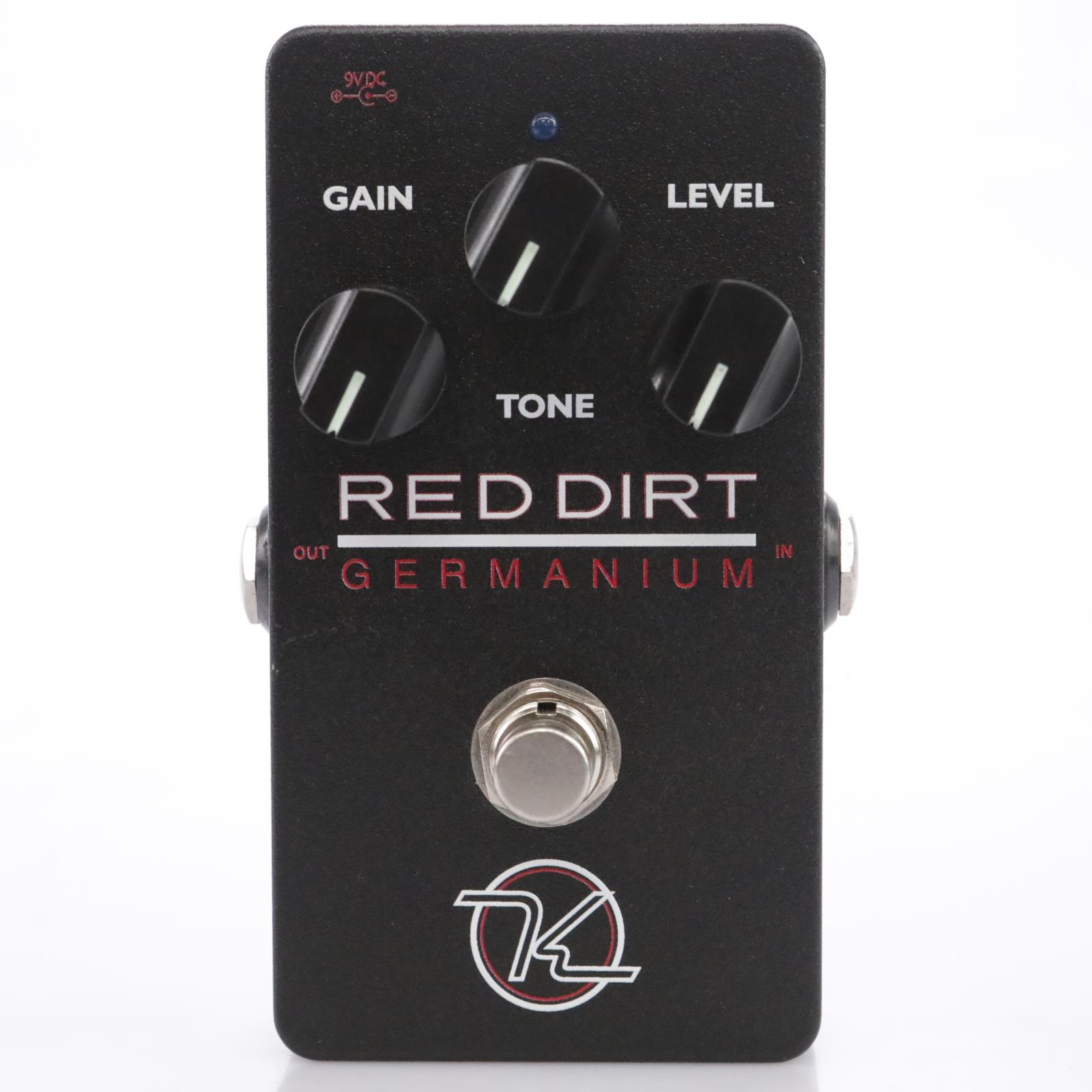 Keeley Engineering Red Dirt Germanium Overdrive Guitar Effects Pedal #43559