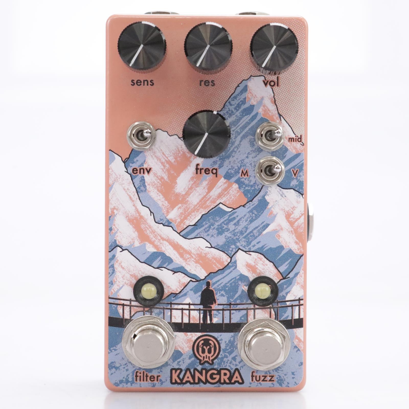 Walrus Audio Kangra Filter Fuzz Guitar Effects Pedal #43562