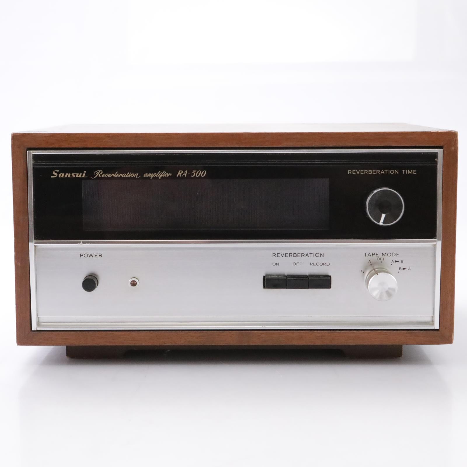 Sansui RA-500 Spring Reverberation Amplifier #43928