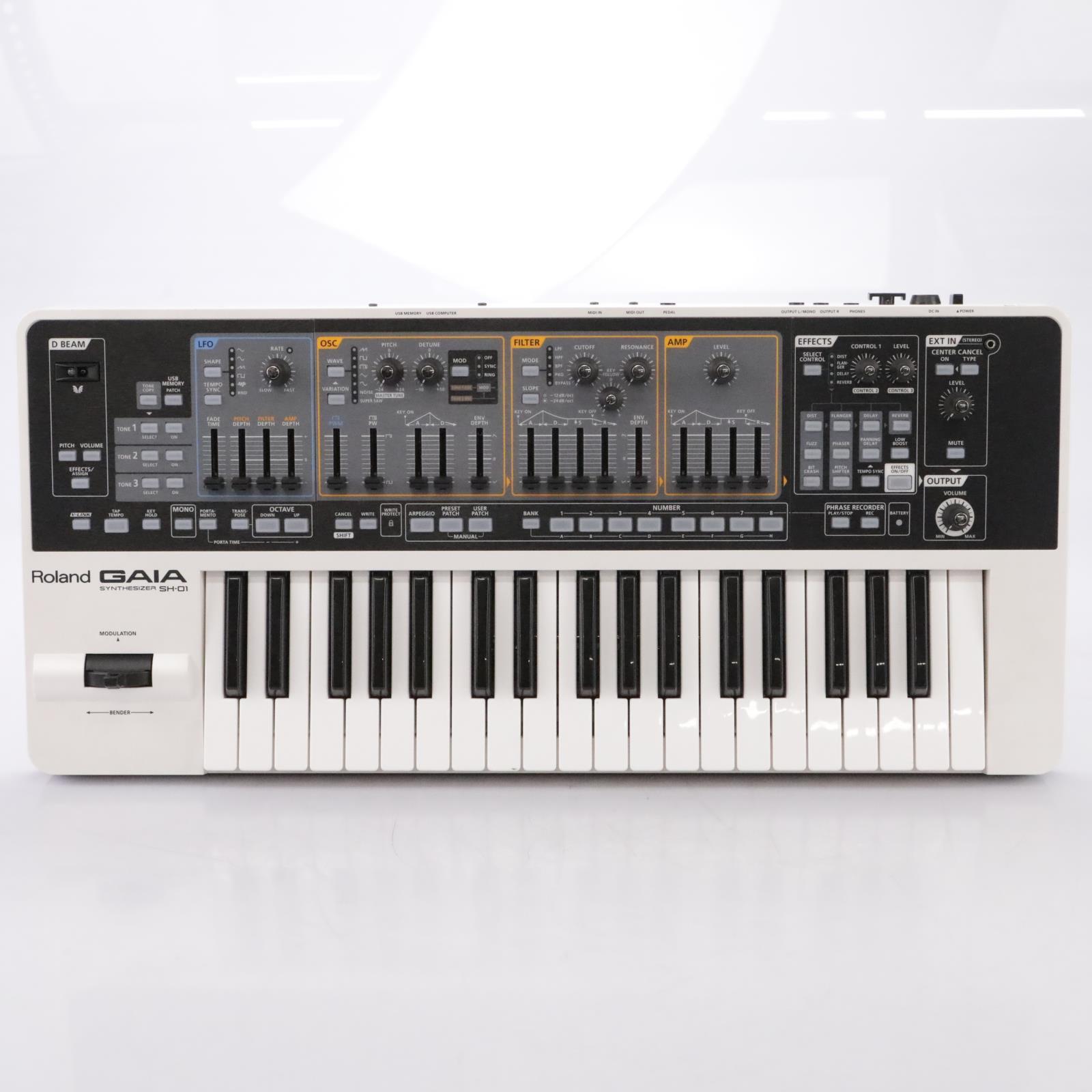 Roland GAIA SH-01 37-Key Virtual Analog Synthesizer #44009