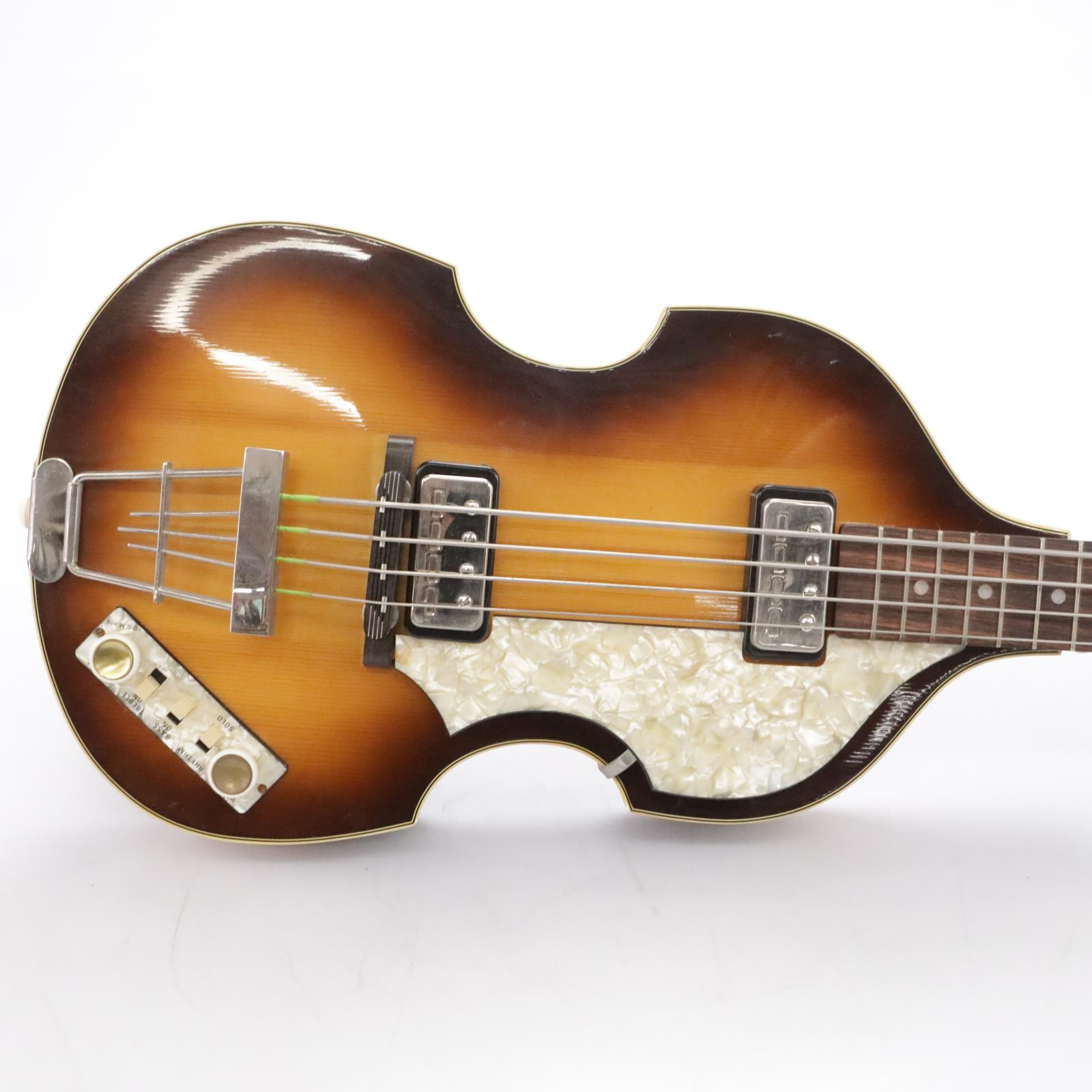Hofner Vintage '62 500/1 Electric Violin Bass Guitar Owned by Andrew Gold #43995