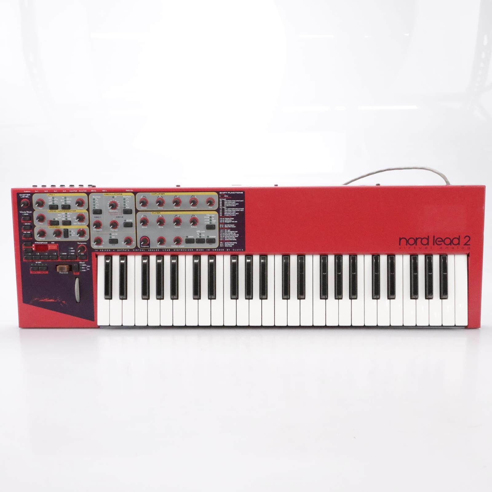 Clavia Nord Lead 2 Virtual Analog 49-Key Synthesizer Keyboard #44008