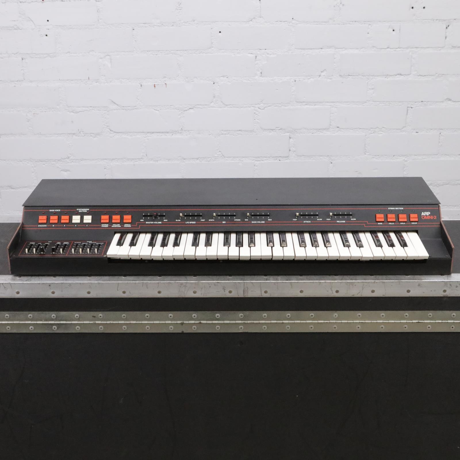 ARP Omni-2 Model 2473 3-Section Analog Synthesizer #44019