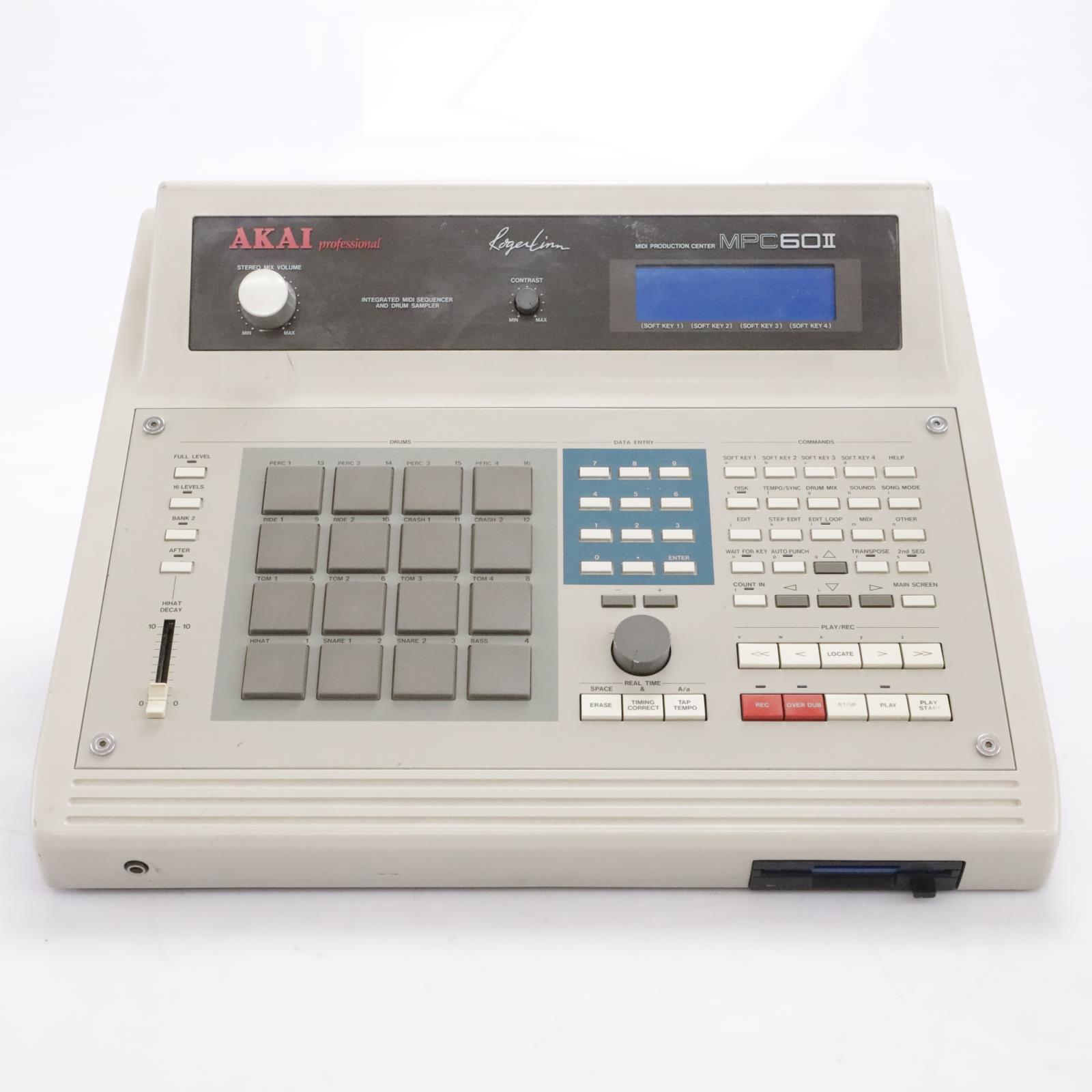 Akai MPC60II Production MIDI Center Drum Machine Sampler MPC60 II #44031