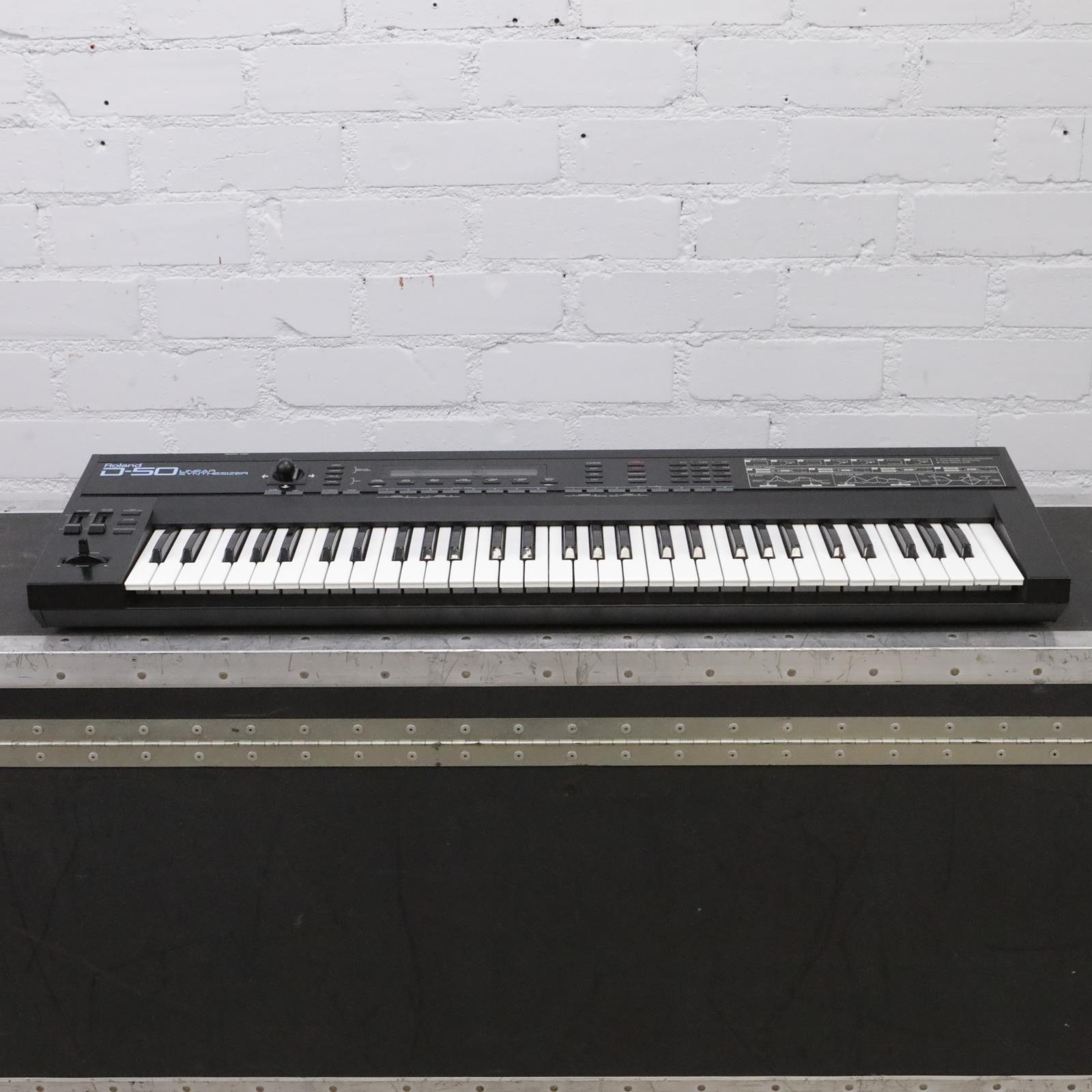 Roland D-50 Linear Synthesizer Synth 61-Key Keyboard #44017