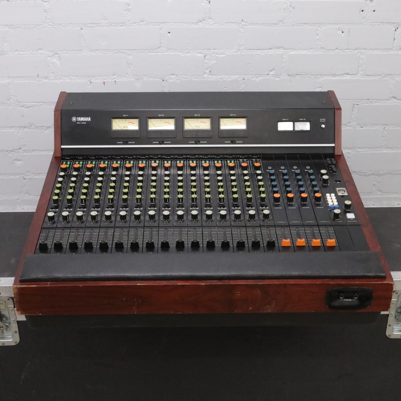 Yamaha PM-1000 16-Channel Console Mixer w/ Neve 1073 Mods & Hard Case #38068