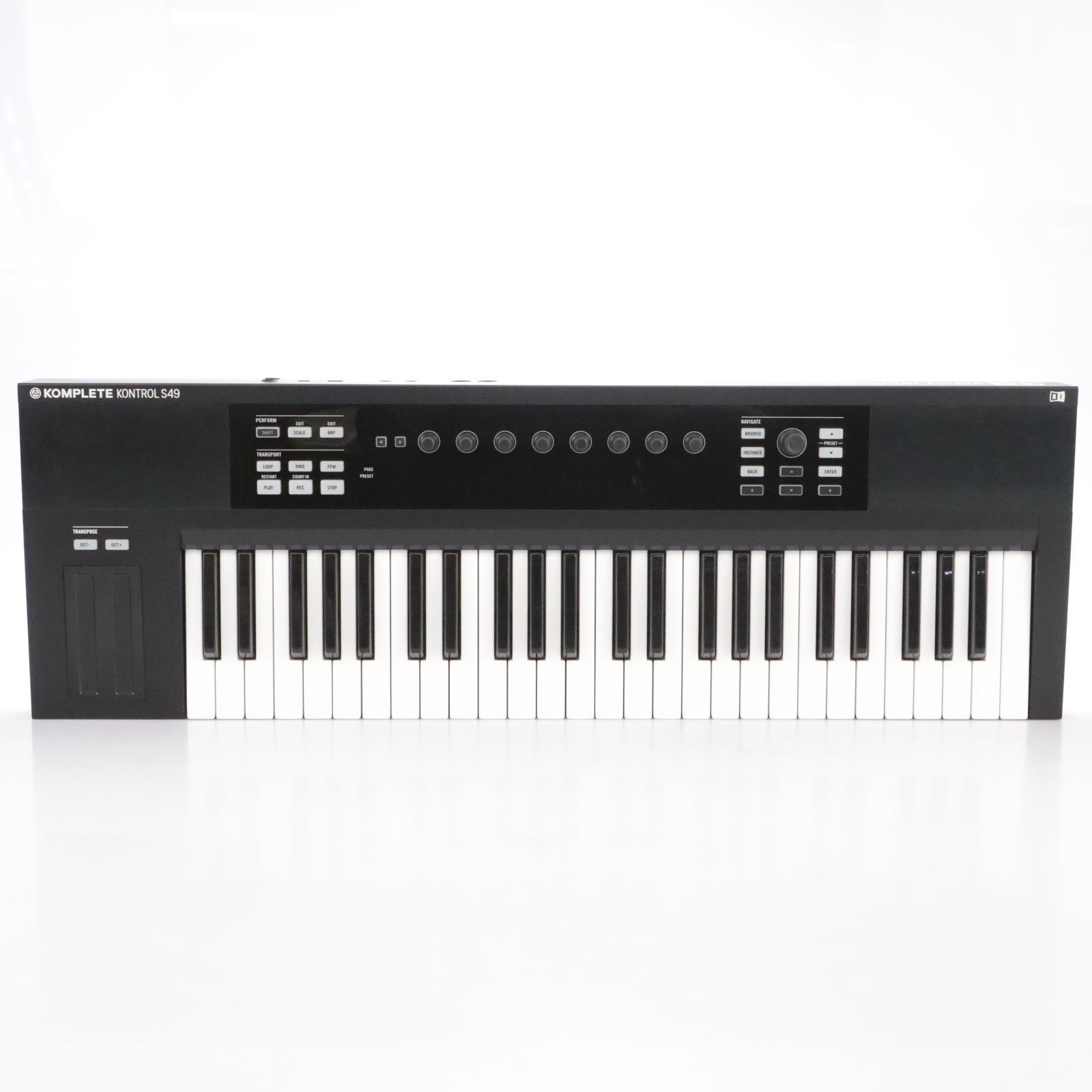 Native Instruments Komplete Kontrol S49 mkI MIDI Keyboard Controller #43944