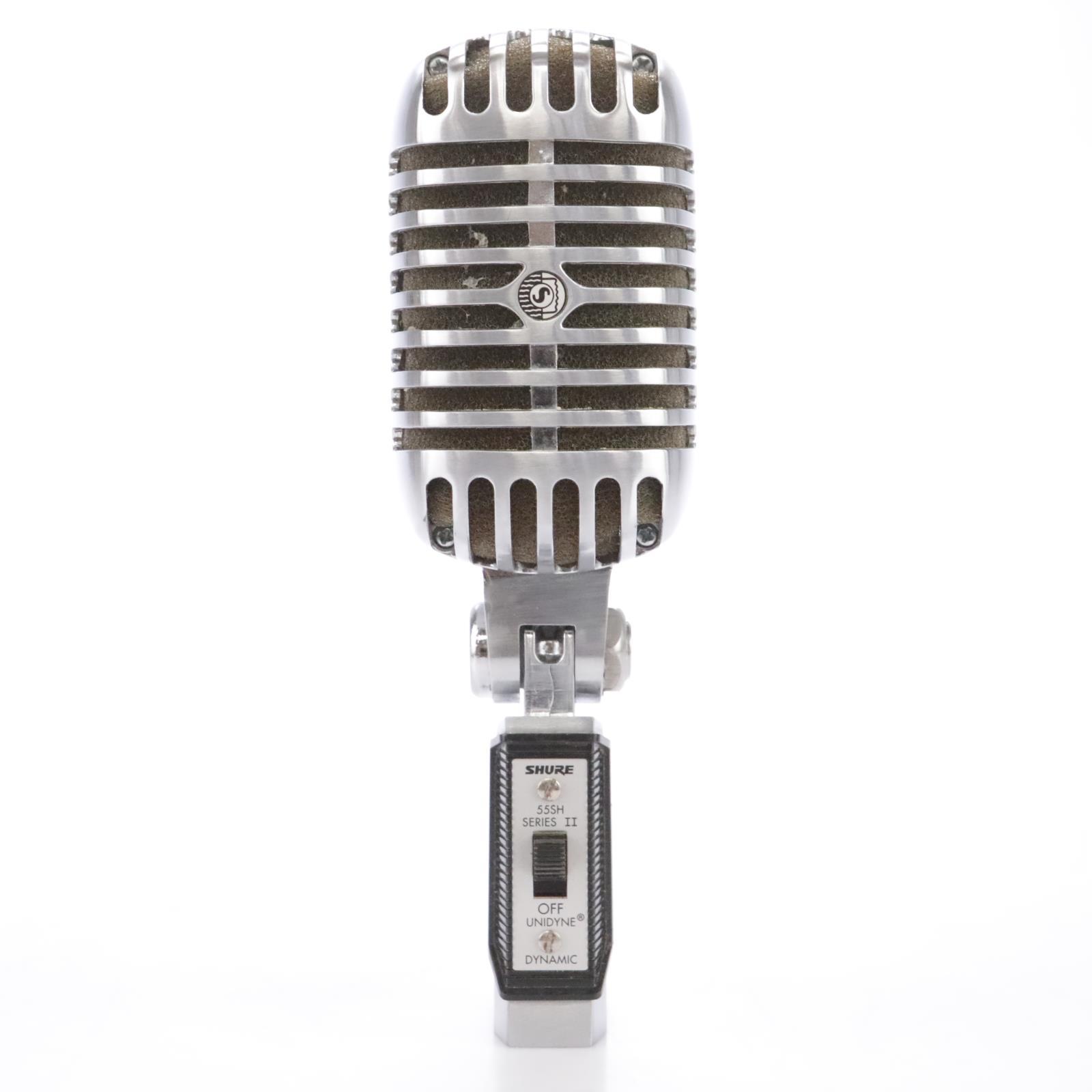 Shure 55SH Series II Cardioid Dynamic Vocal Microphone w/ Soft Case #43147
