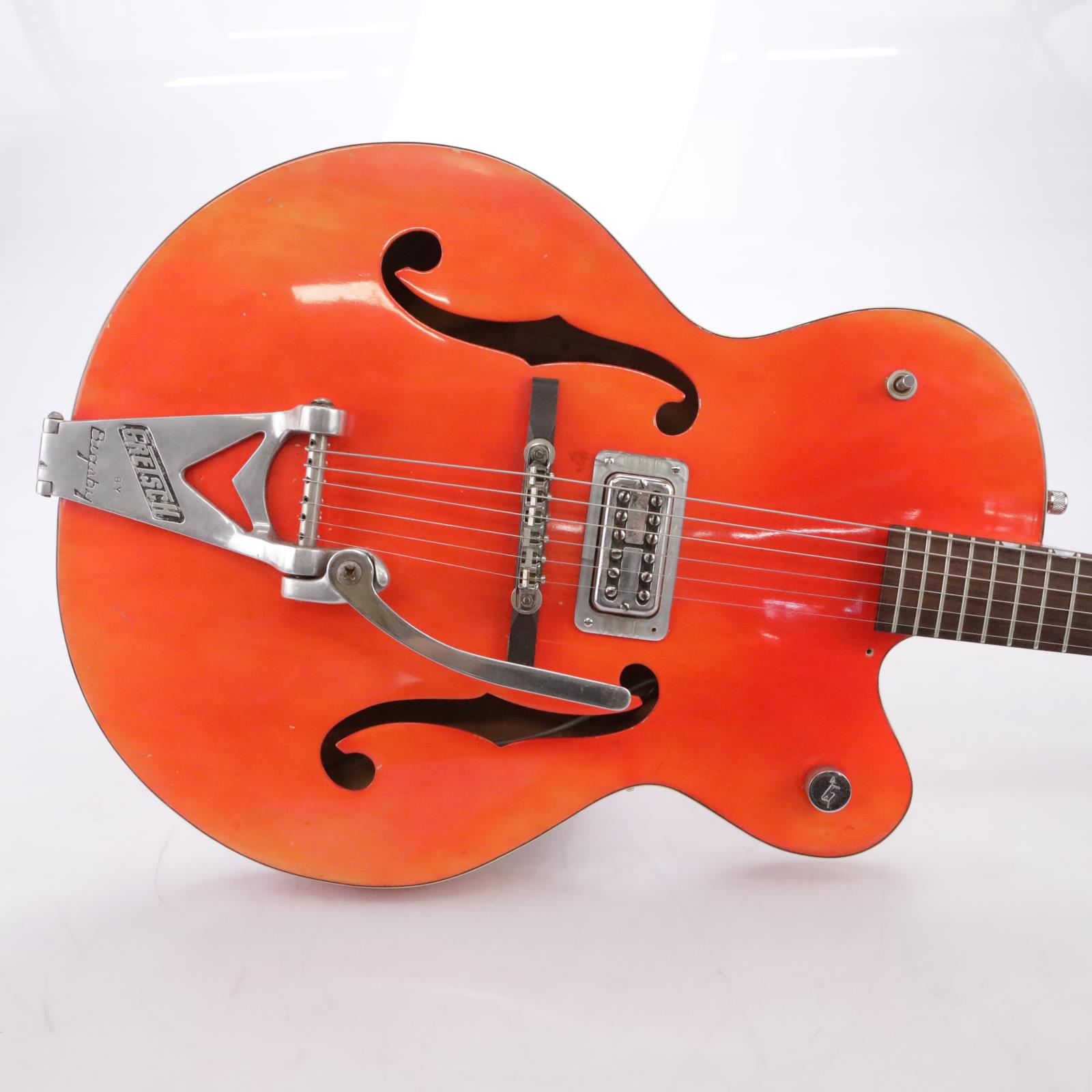 Vintage 1961 Gretsch 6119 Chet Atkins Hollowbody Electric Guitar w/ Case #44214