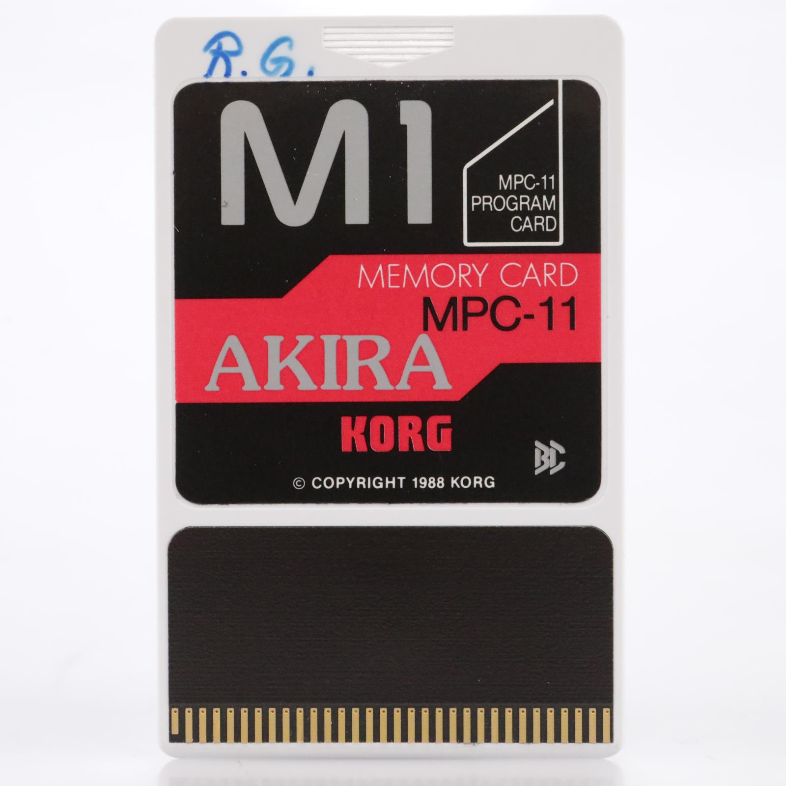 Korg MPC-11 Akira Memory Program Sound Card for the Korg M1 #44187
