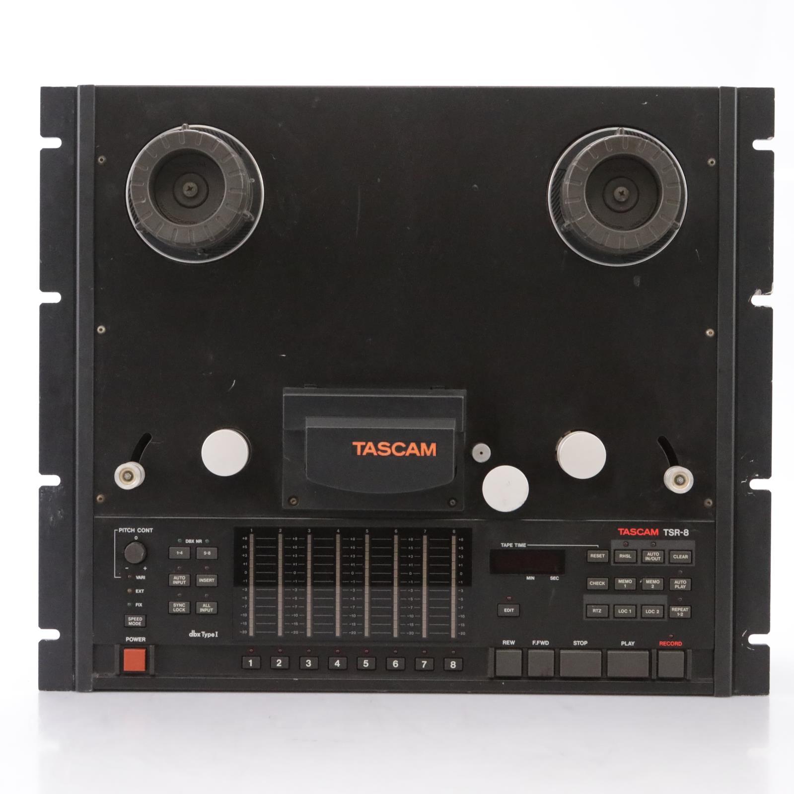 Tascam TSR-8 Reel-to-Reel Tape Recorder w/ 3M & Ampex 456 Reels #44197
