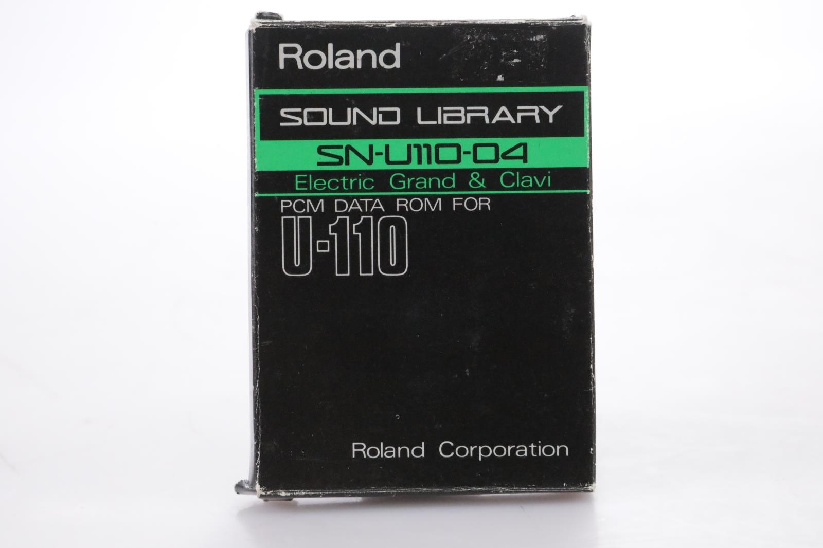 Roland SN-U110-04 Electric Grand & Clavi PCM Data ROM Card for U-110 #44165