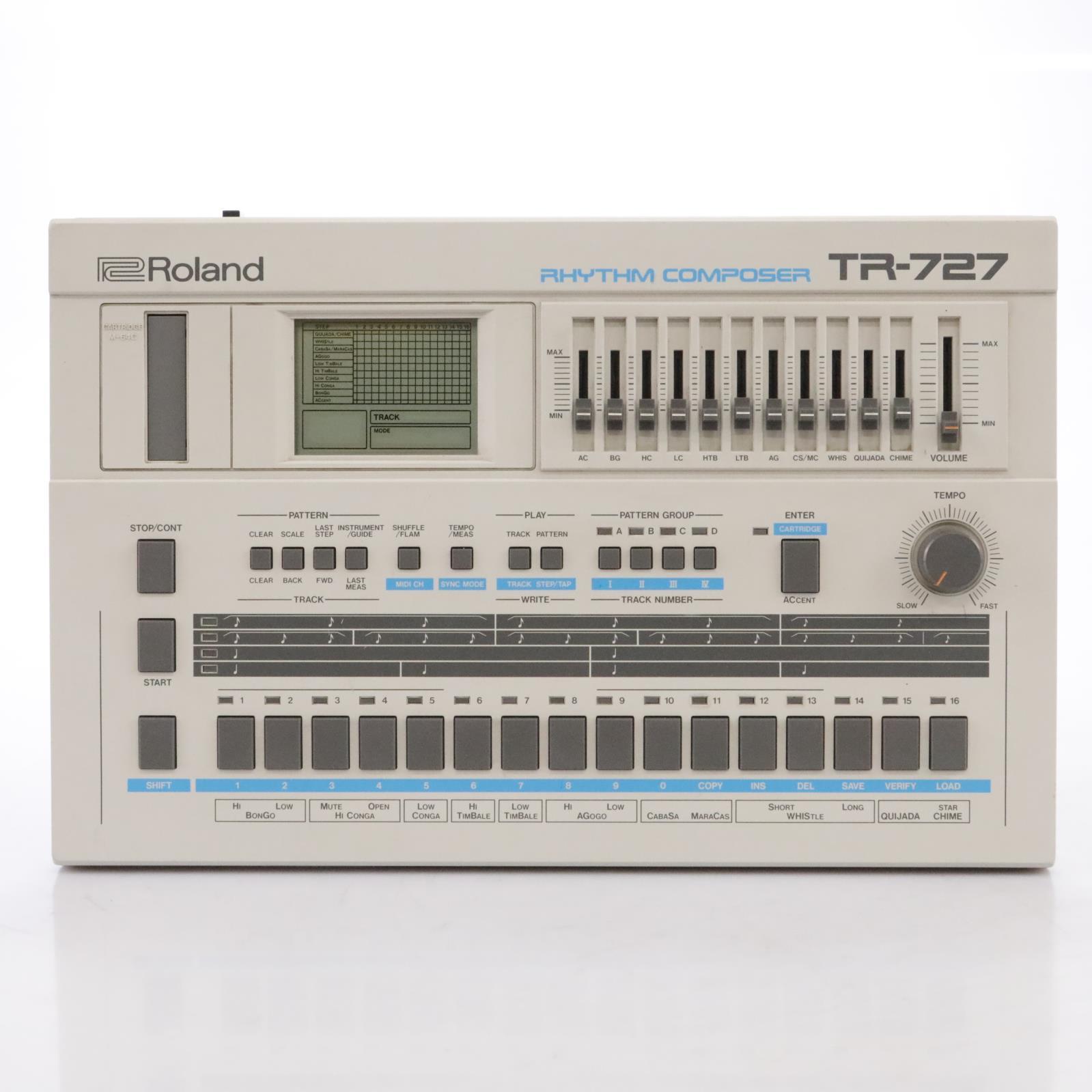 Roland TR-727 Latin Percussion Rhythm Composer #43135