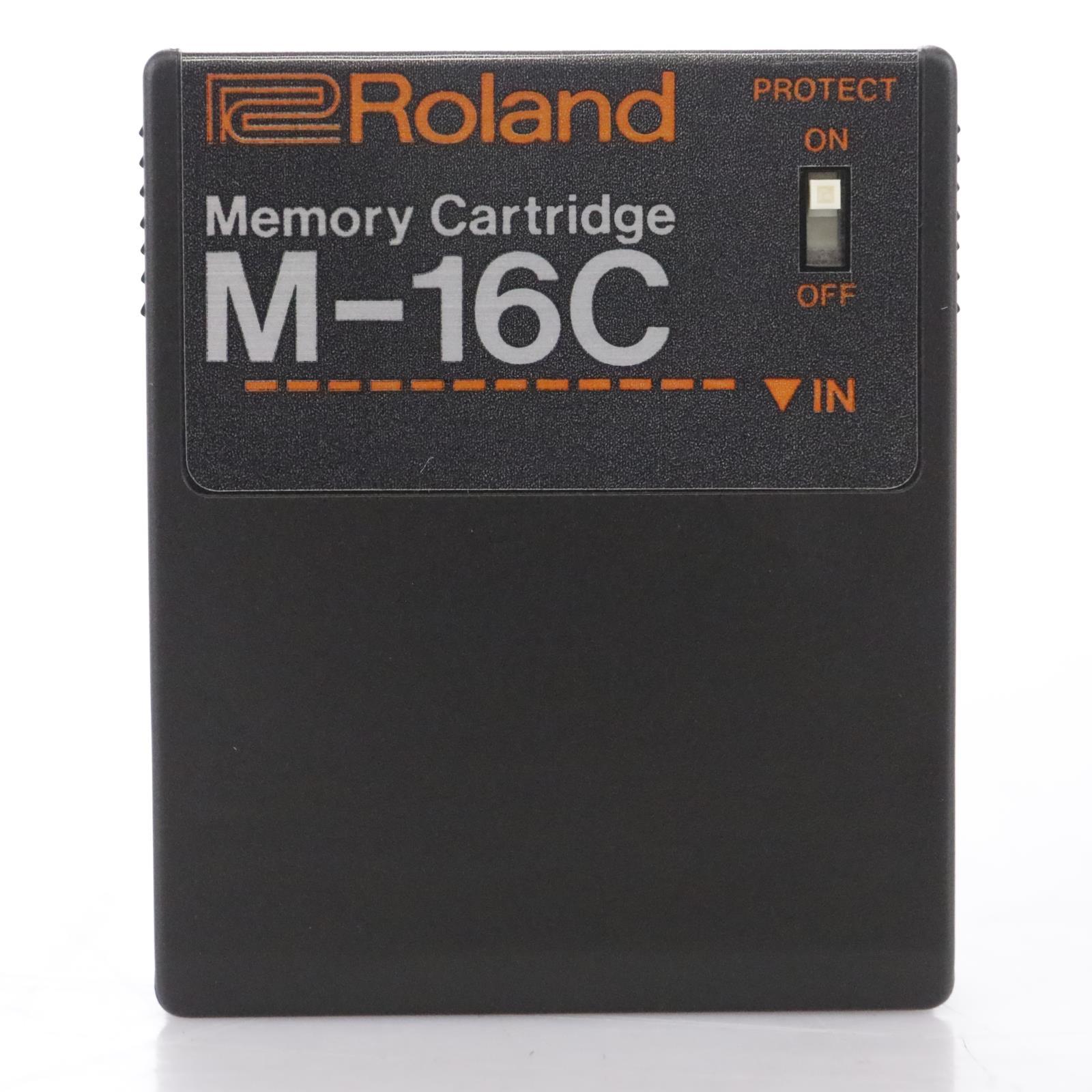 Roland M-16C Memory Cartridge w/ NOS in Original Box #44114
