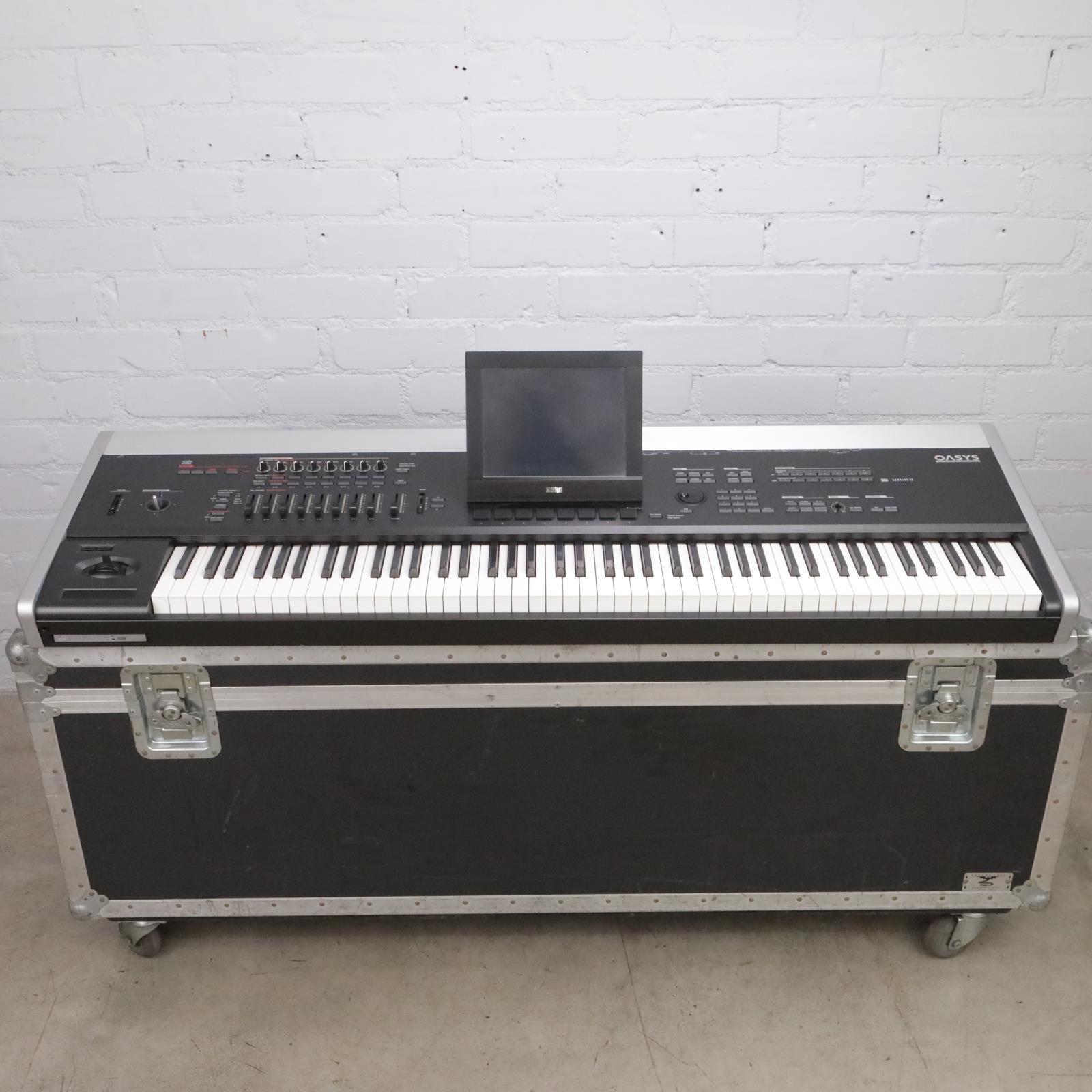 Korg Oasys 88-Note Workstation Keyboard Loaded w/ Brass & Woodwinds CD's #44260