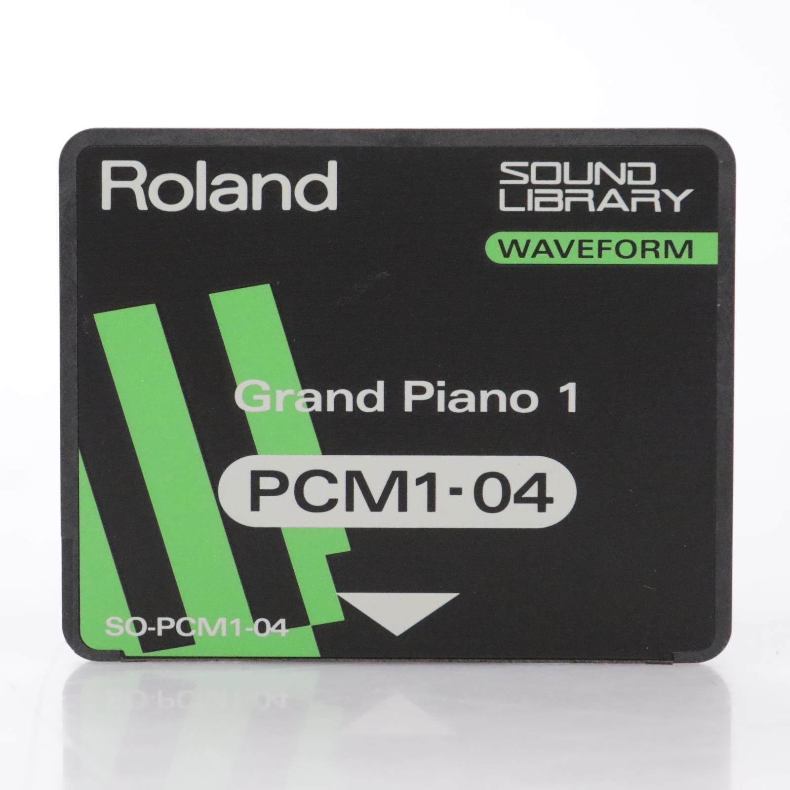 Roland SO-PCM1-04 Grand Piano 1 Sound Library Waveform Card for JV-80 #44286