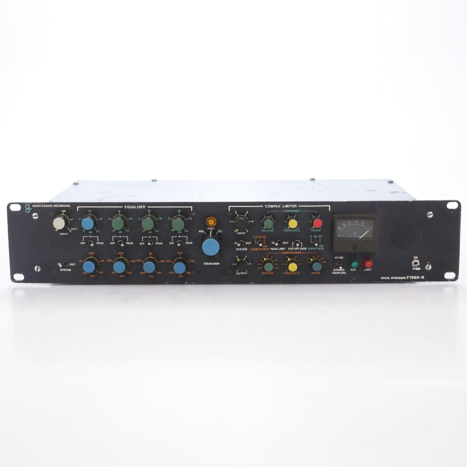Vintage ADR Audio Design Recording F769X-R Vocal Stresser Compex Limiter #44268