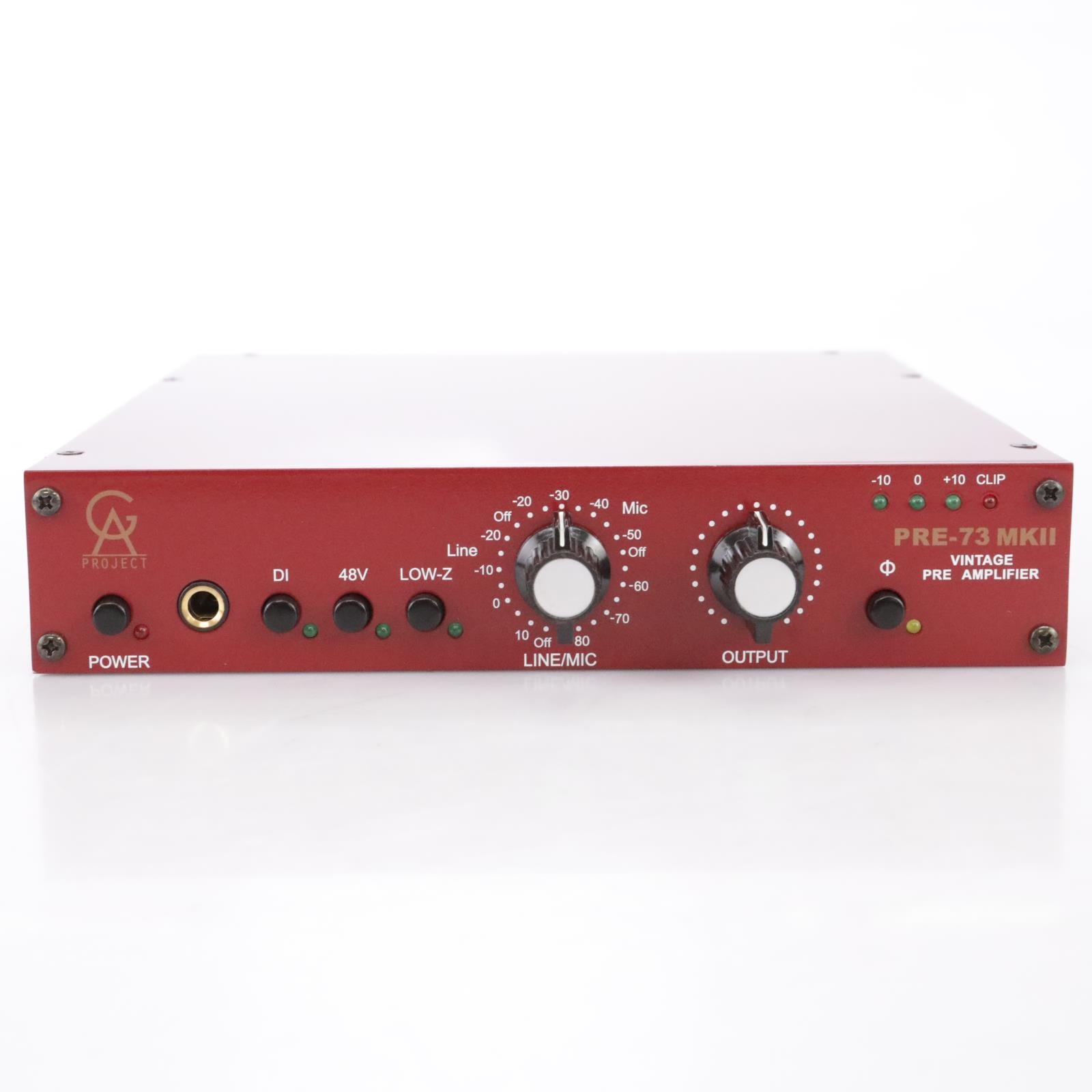 Golden Age Pre-73 MK-II Vintage Style Pre Amplifier Mic Pre #43811