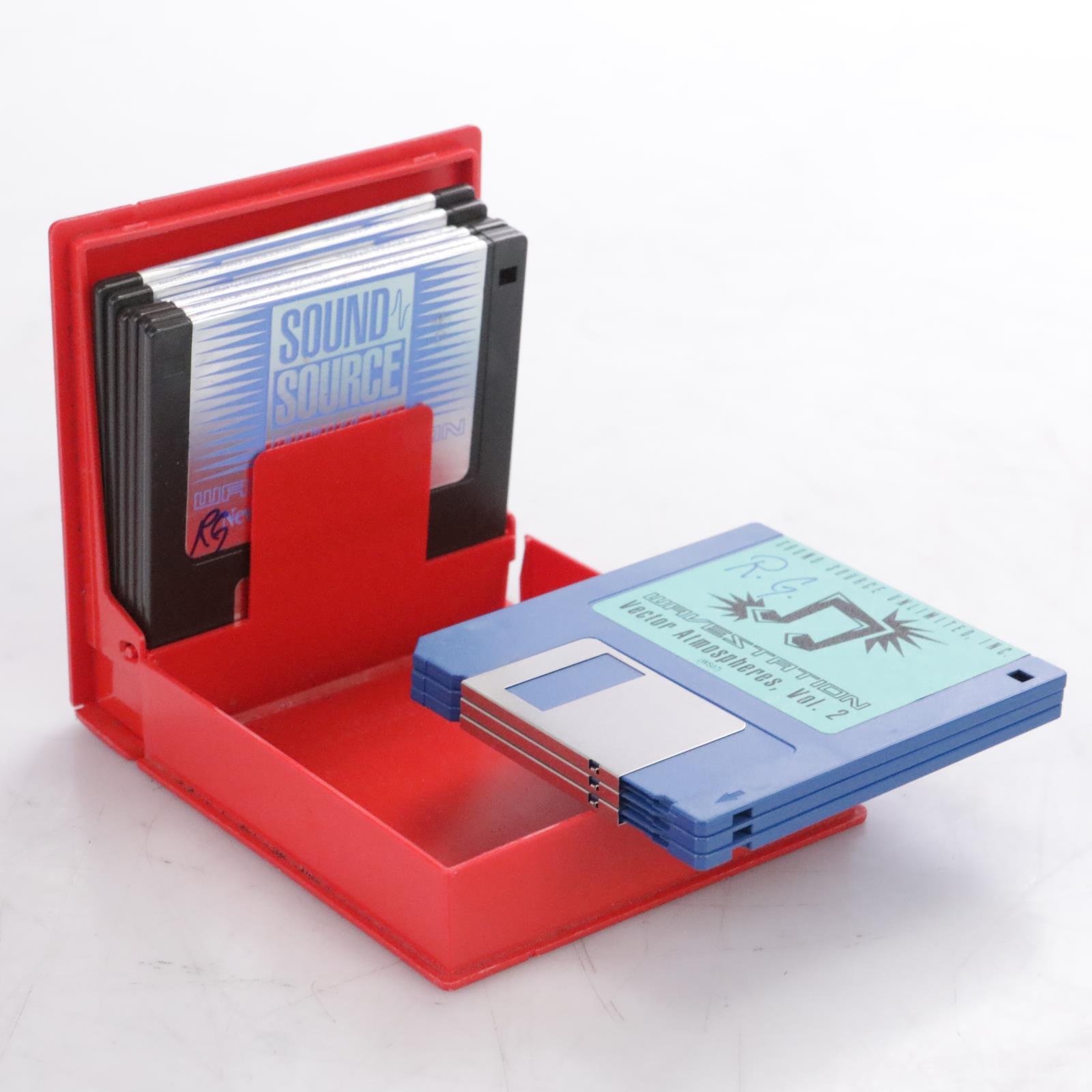 9 Sound Source Unlimited Floppy Disk Sound Banks for the Korg Wavestation #44142