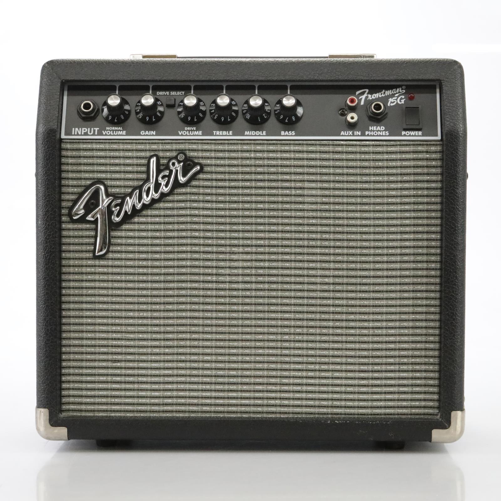 Fender Frontman 15G Guitar Combo Amplifier Amp #44331