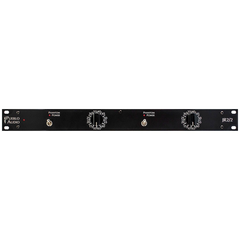 Pueblo Audio JR2/2 Dual-Channel Mic Pre w/ PS34 Central Power Supply #44270