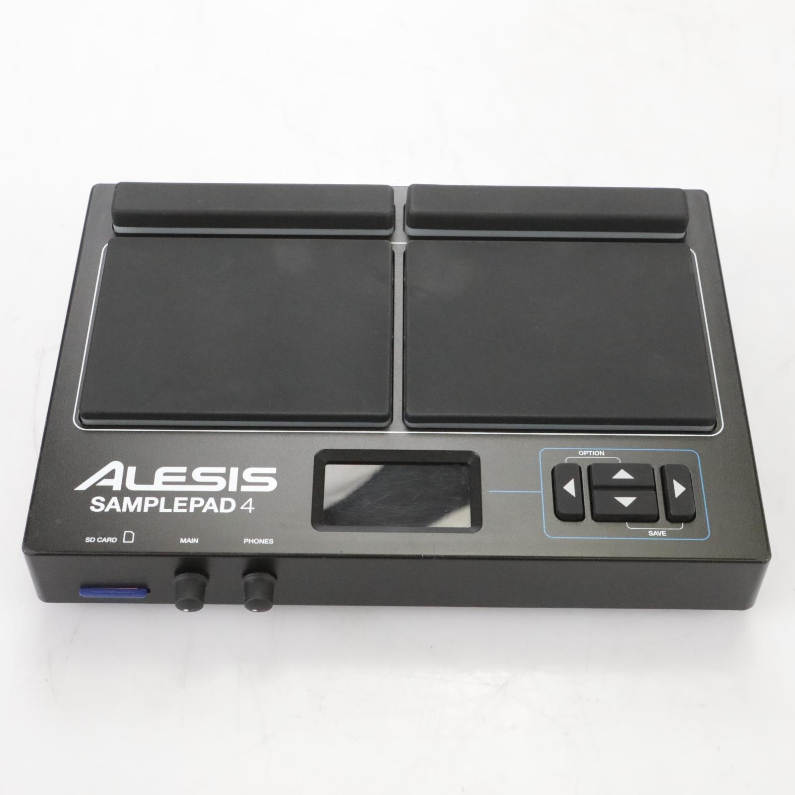 Alesis SamplePad 4 Multi-Pad Percussion Sampler Instrument w/ SD-Card #44387