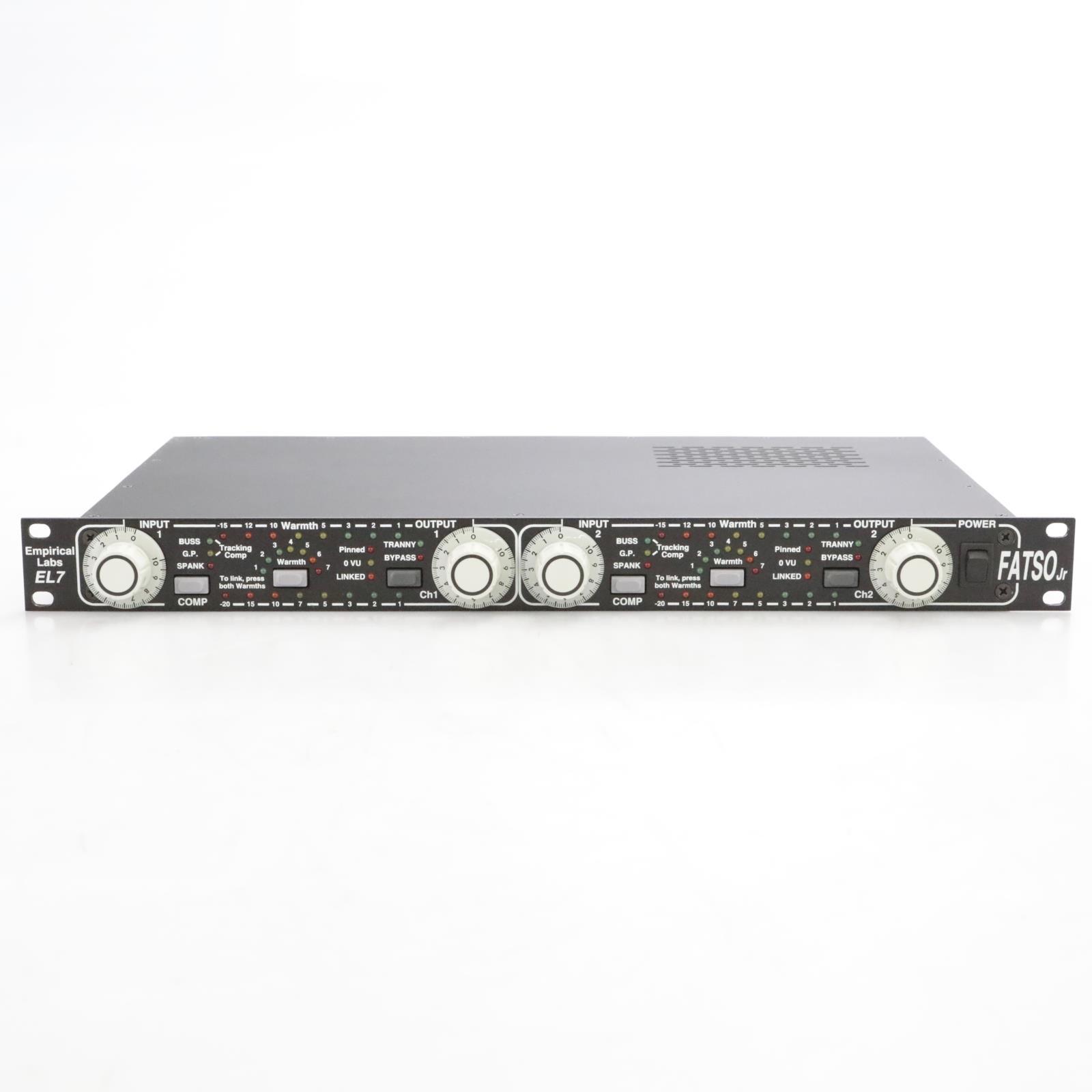 Empirical Labs EL7 Fatso Jr Full Analog Tape Simulator and Optimizer #40837