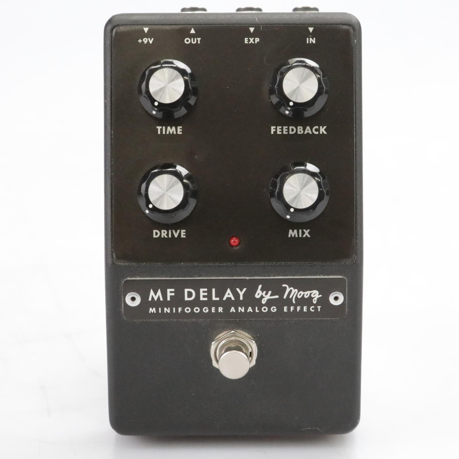 Moog Minifooger MF Delay Analog Guitar Effect Pedal Stomp Box #44363