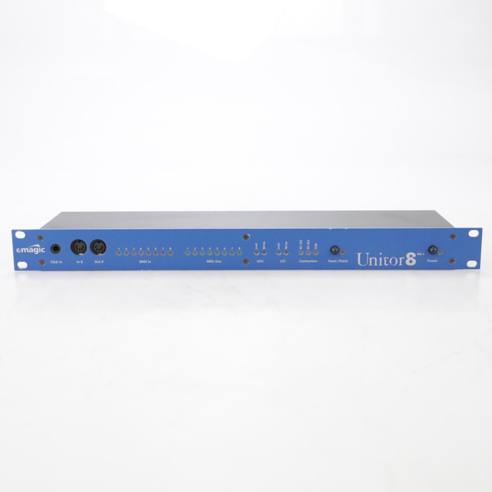Emagic Unitor 8 MKII 8-Ch MIDI Interface #44425