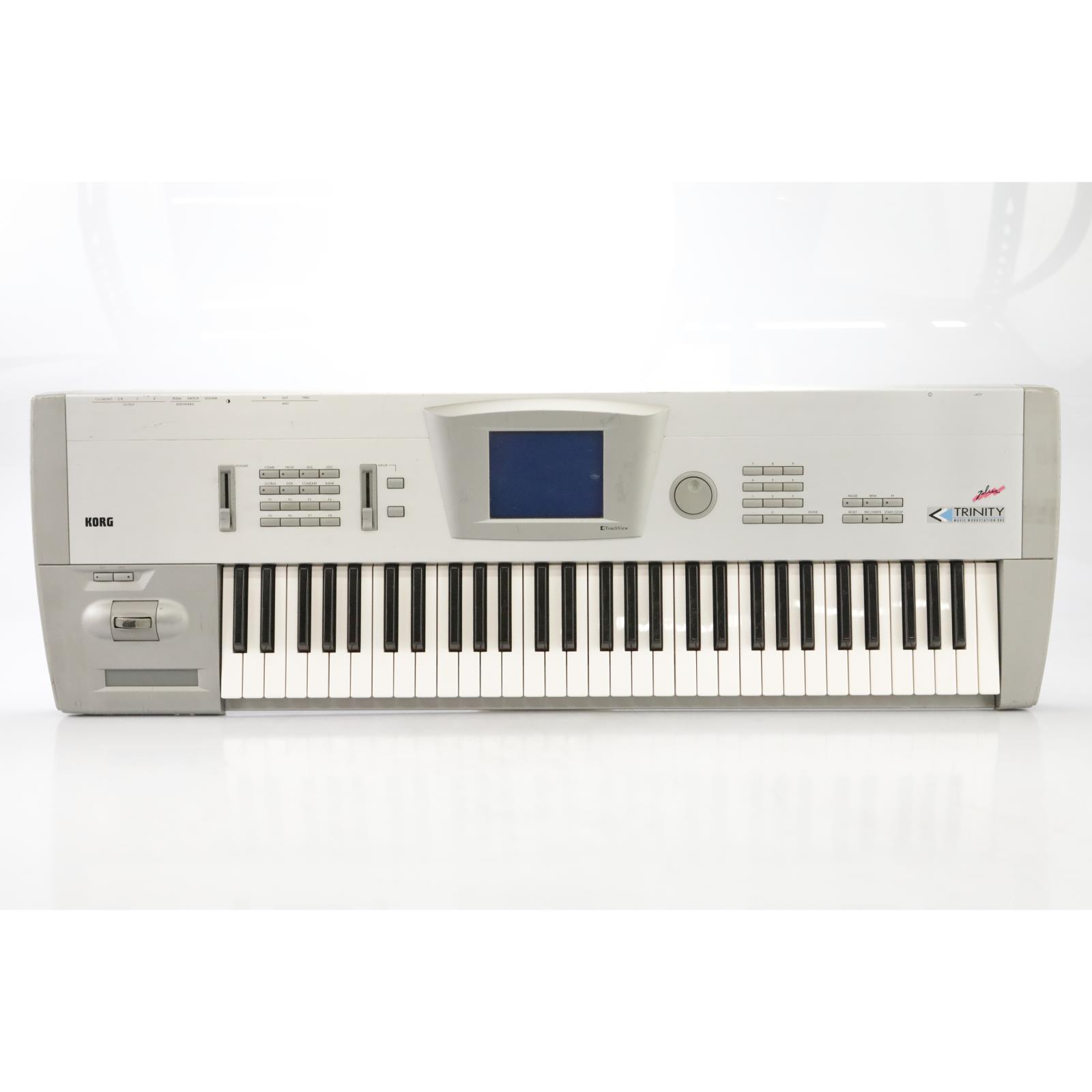 Korg Trinity Plus 61-Key Synthesizer Workstation w/ PBS-TRI & Soft Case #44438