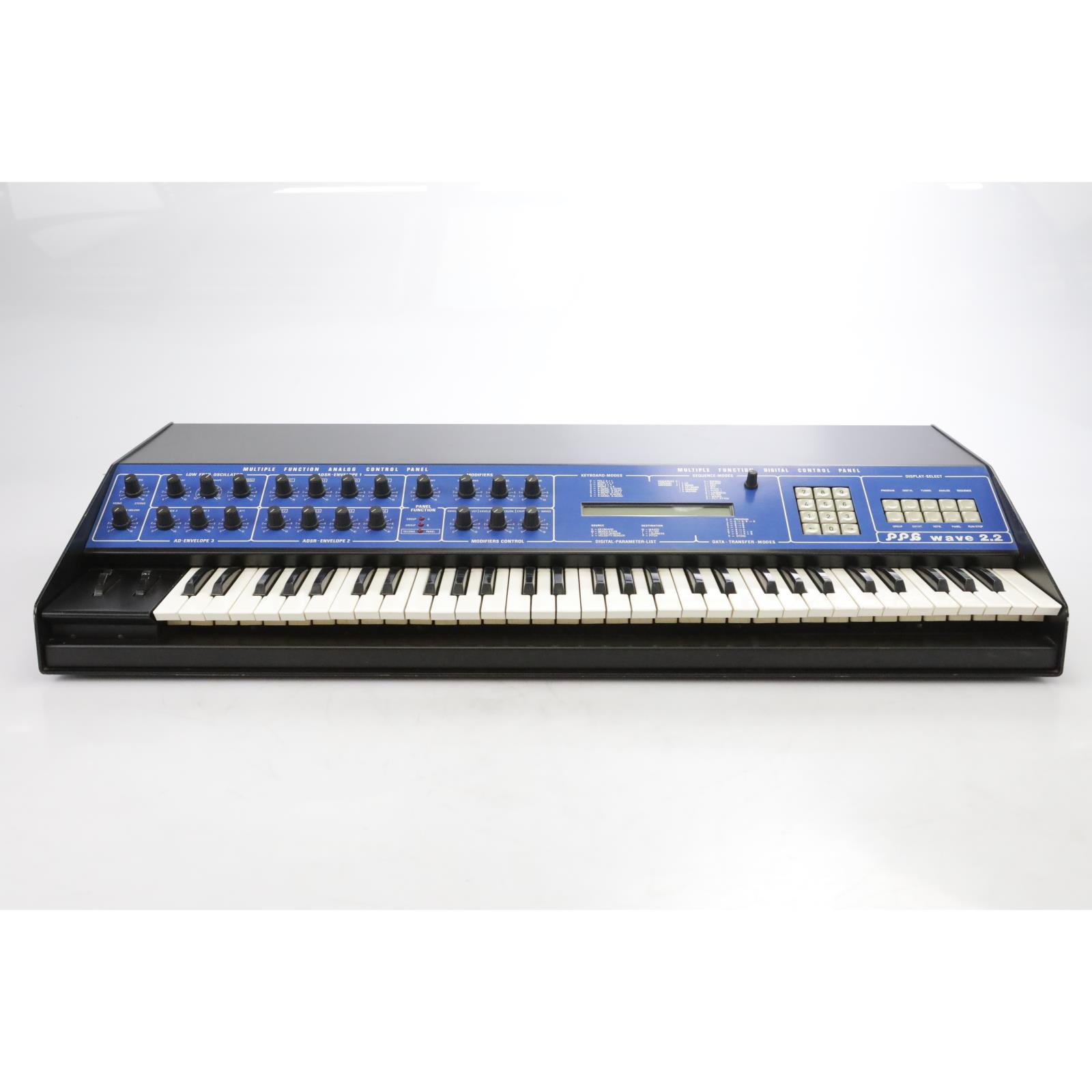 PPG Wave 2.2 Keyboard Analog Digital Synthesizer w/ MIDI #44402