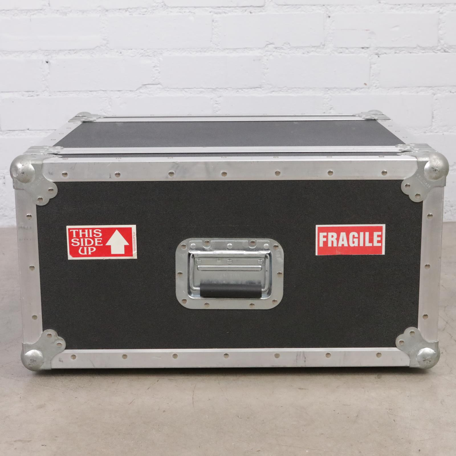 A&S 4-Space 4U ATA Flight Road Shock Mount Case Owned By David Roback #44513