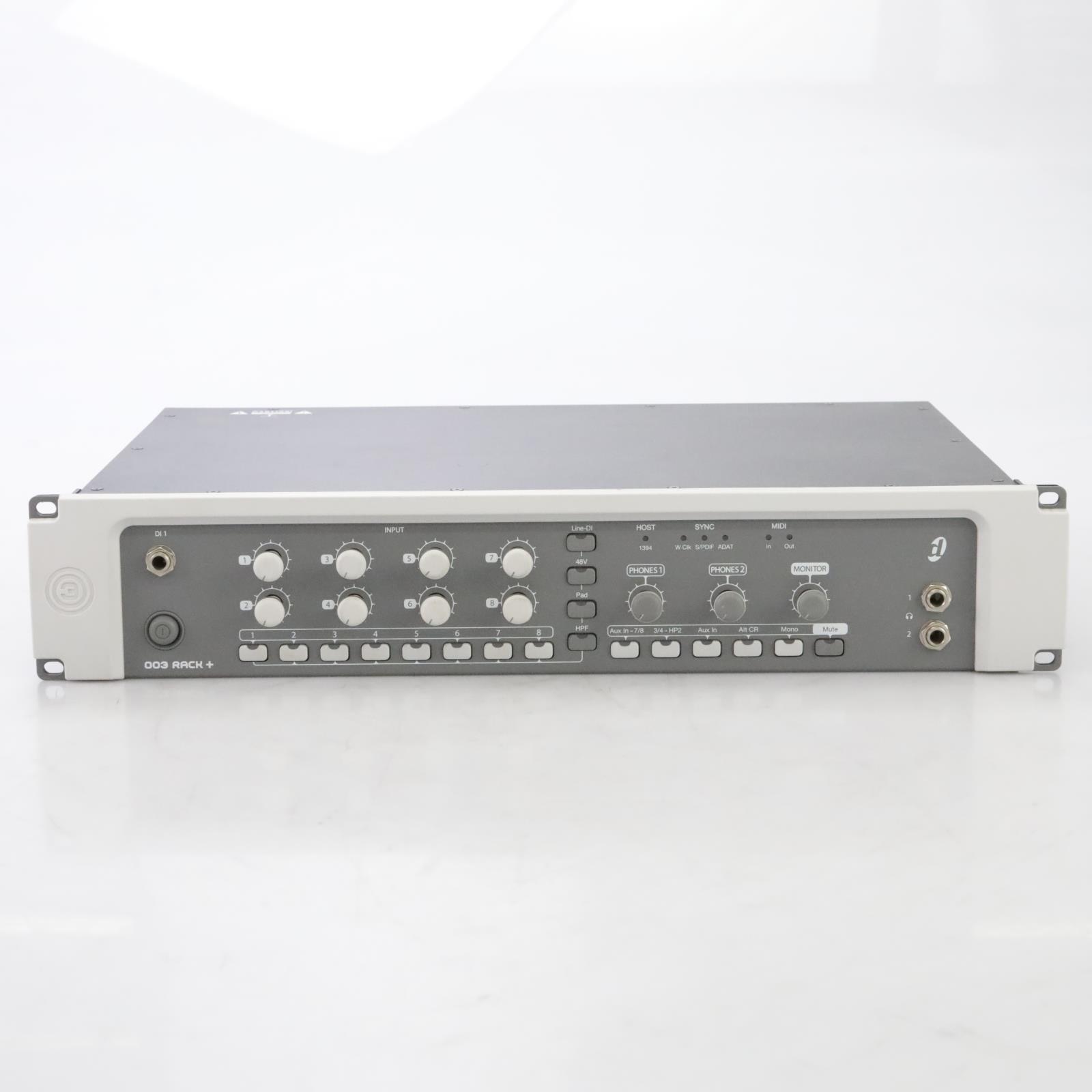 Digidesign 003 Rack+ 8 Mic Preamps Firewire Interface Rack #44489