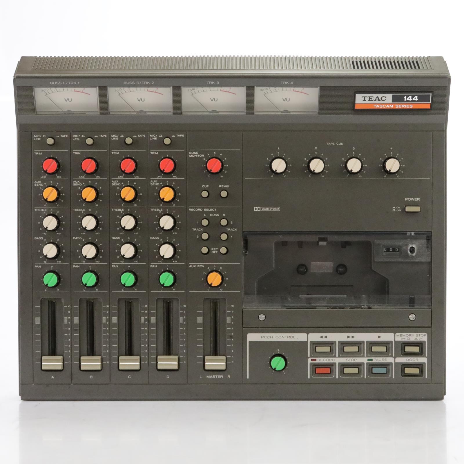 Teac Tascam 144 Porta-Studio Cassette Tape Recorder 220V David Roback #44695